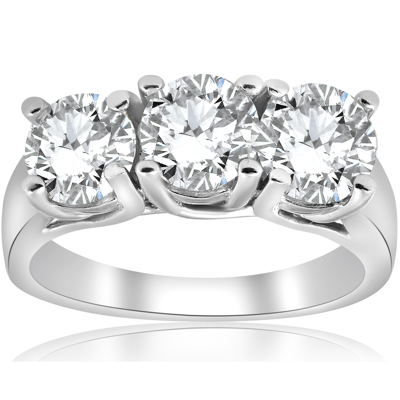 Featured Photo of Enhanced Black And White Diamond Anniversary Ring In White Gold