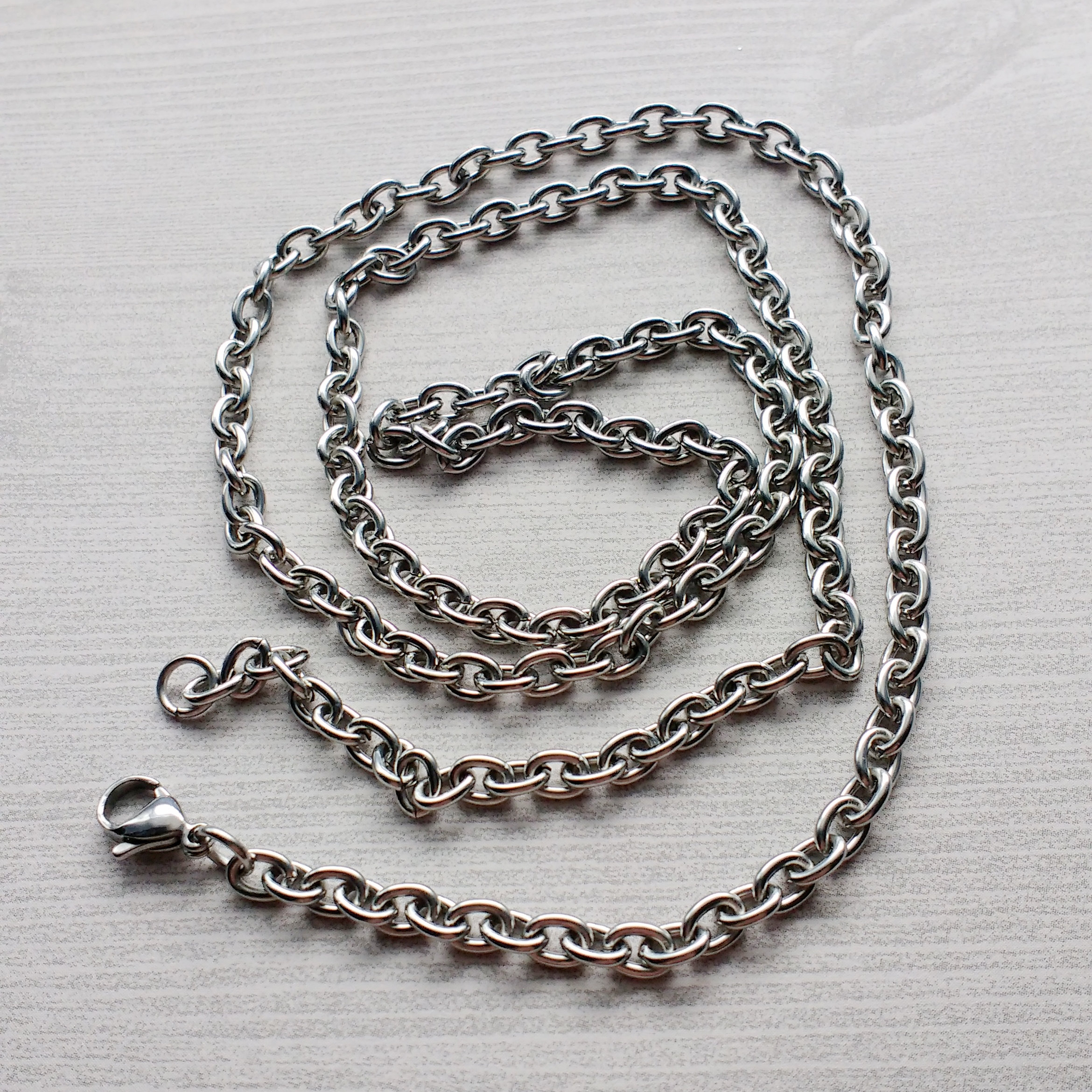 5 Cable Chain Necklaces (View 19 of 25)