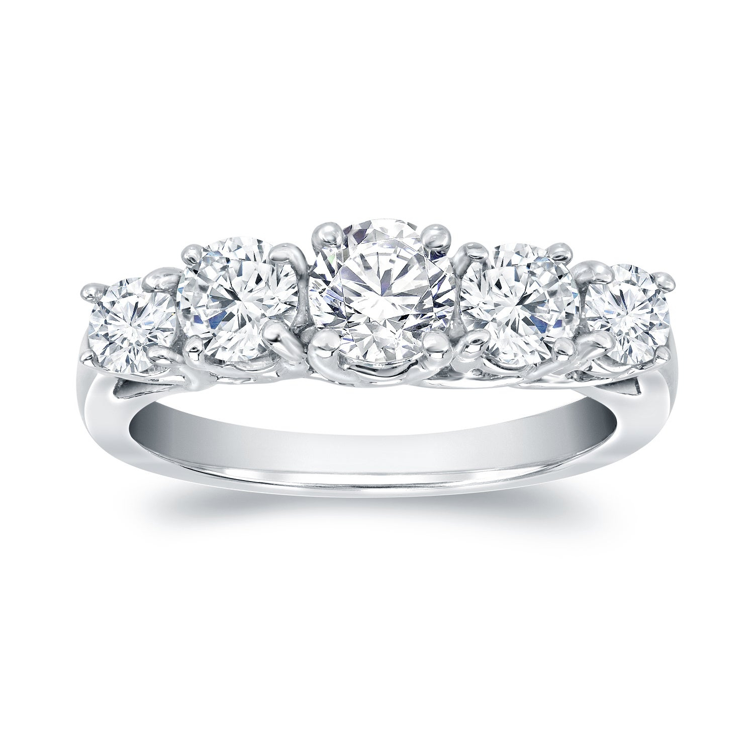 """5 Stone Engagement Rings 