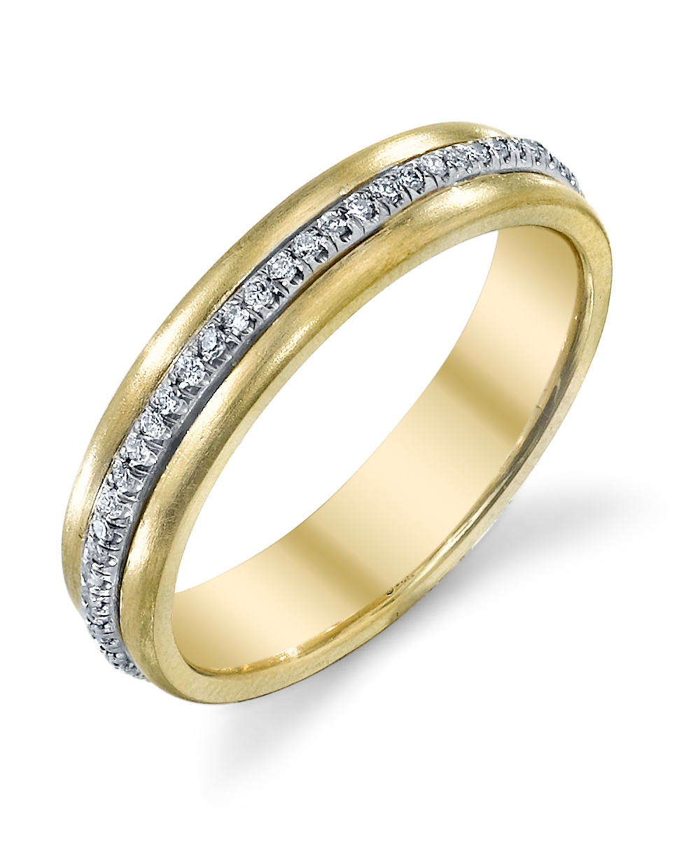 65 Unique Diamond Eternity Bands | Martha Stewart Weddings With Most Popular Diamond Channel Set Anniversary Bands In White Gold (View 14 of 24)