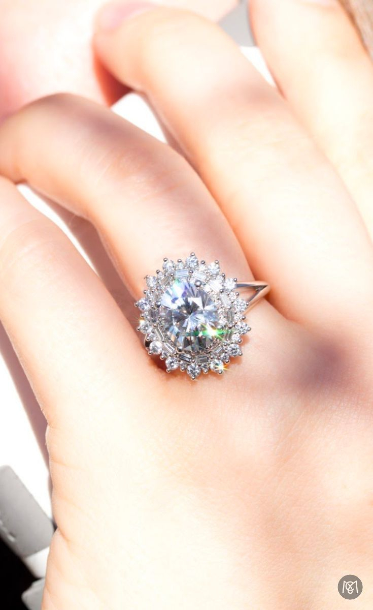 A Big, Sparkly Multi Halo Engagement Ring (View 11 of 25)