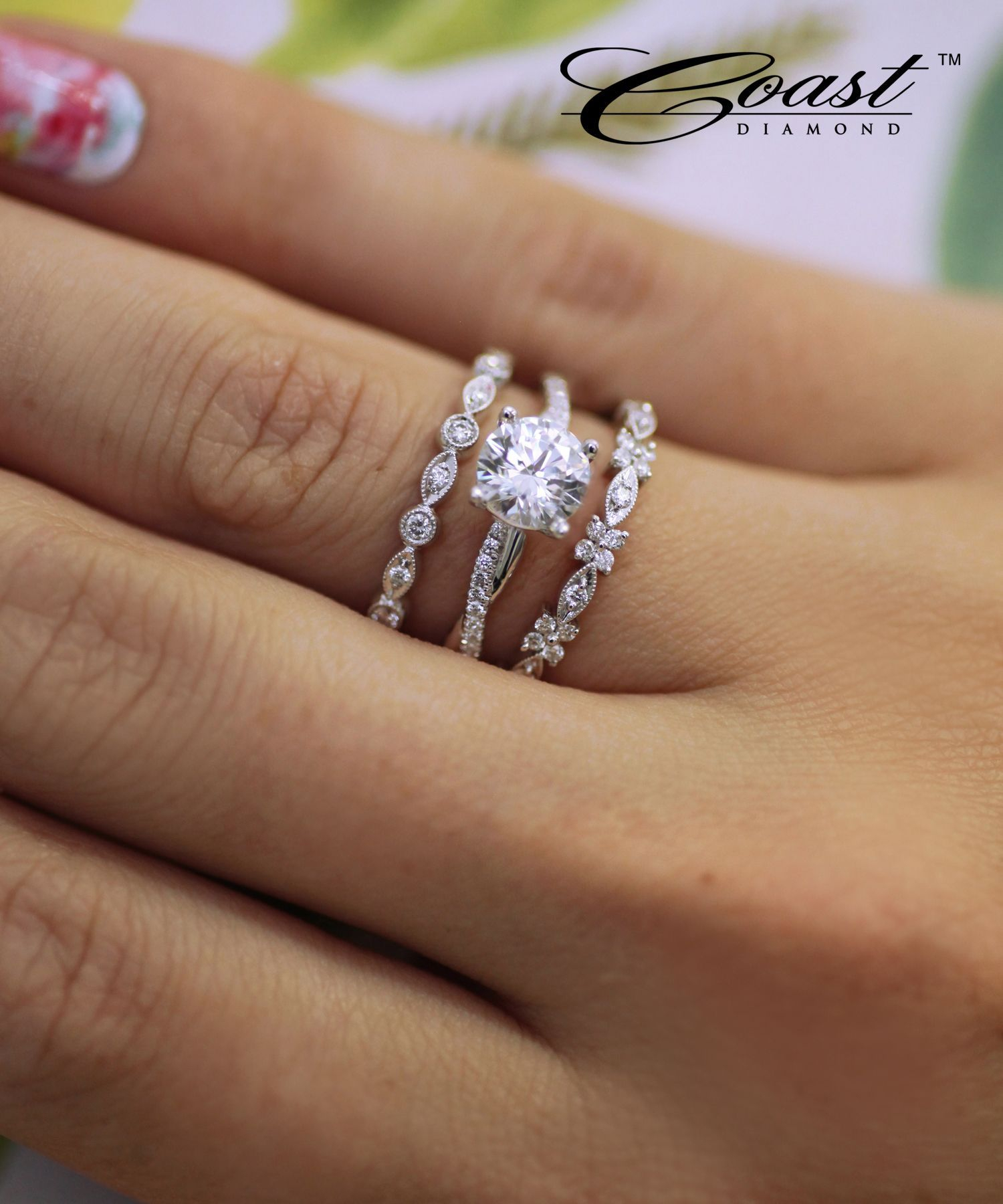 A Fashion Band Featuring Brilliant Round Diamonds Set In With Regard To Most Popular Marquise And Round Diamond Alternating Anniversary Bands In Rose Gold (View 6 of 25)