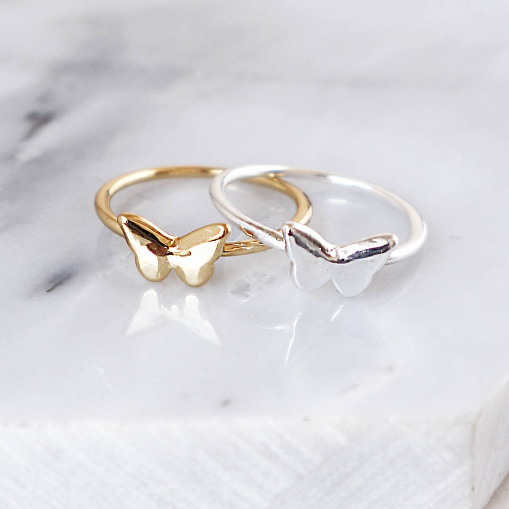 A Super Dazzling Butterfly Ring Selection | Jewelryjealousy Throughout Best And Newest Sparkling Butterfly Open Rings (View 4 of 25)