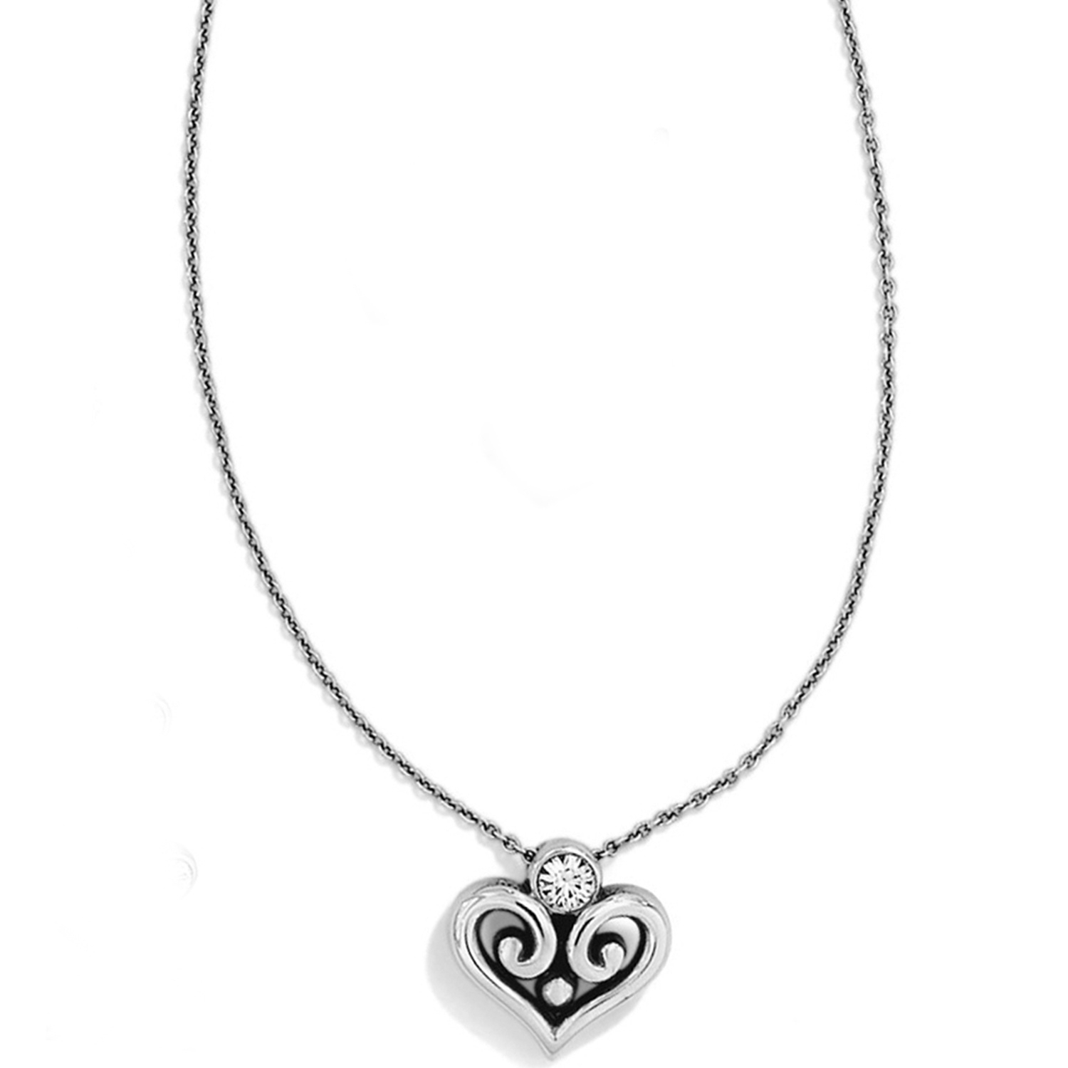 Alcazar Heart Necklace For Newest Joined Hearts Necklaces (View 8 of 25)
