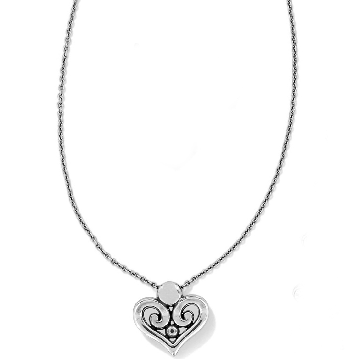 Alcazar Heart Necklace With Regard To Newest Joined Hearts Necklaces (View 14 of 25)