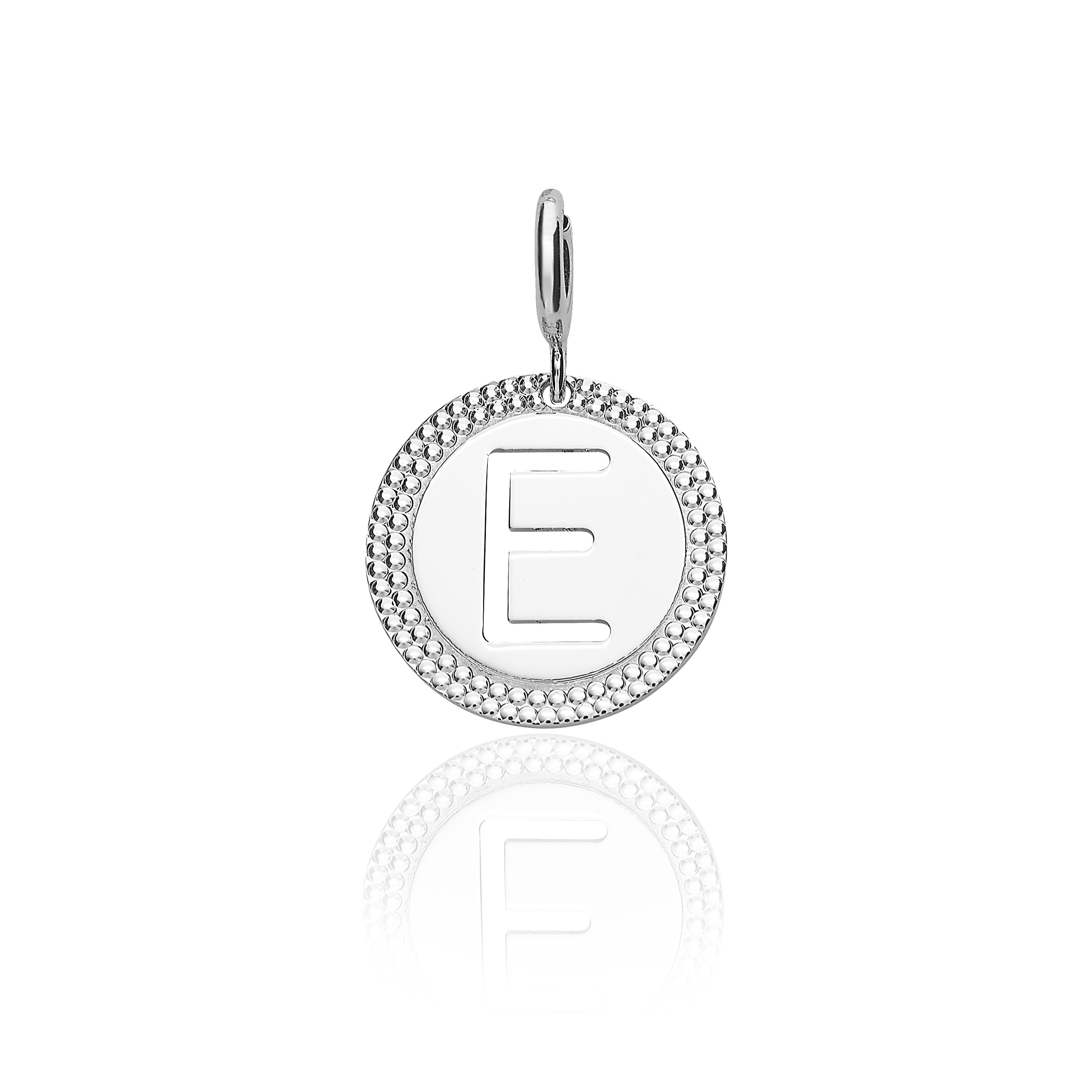 Featured Photo of Letter E Alphabet Locket Element Necklaces
