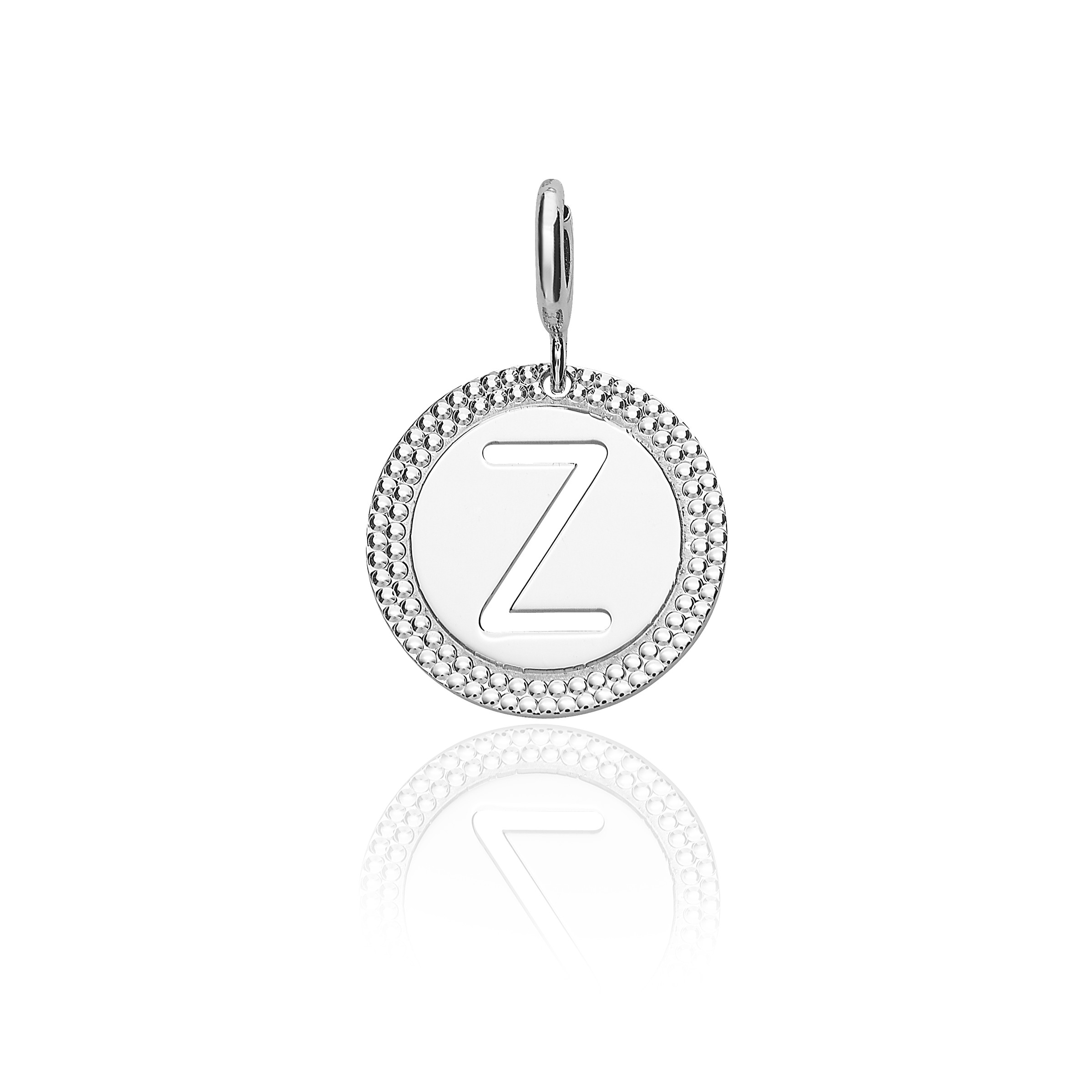 Featured Photo of Letter Z Alphabet Locket Element Necklaces