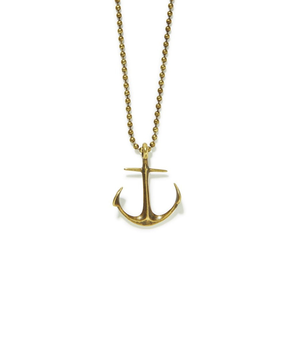 Anchor Necklace For Most Current Classic Anchor Chain Necklaces (View 5 of 25)