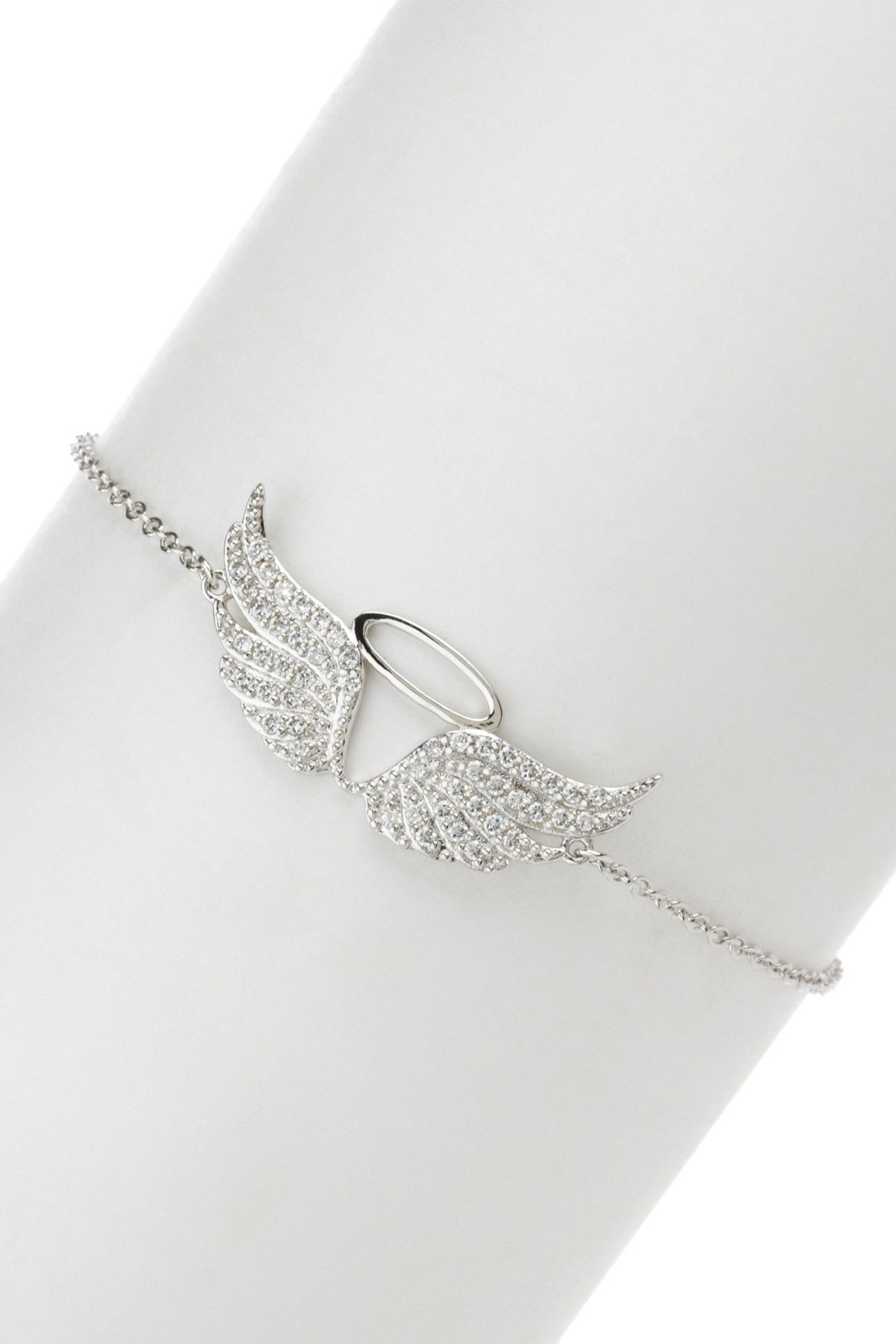 Angel Wing Charm Bracelet | Clothes | Jewelry, Angel Wings Jewelry Inside Current Pavé Angel Wing Locket Element Necklaces (View 3 of 25)