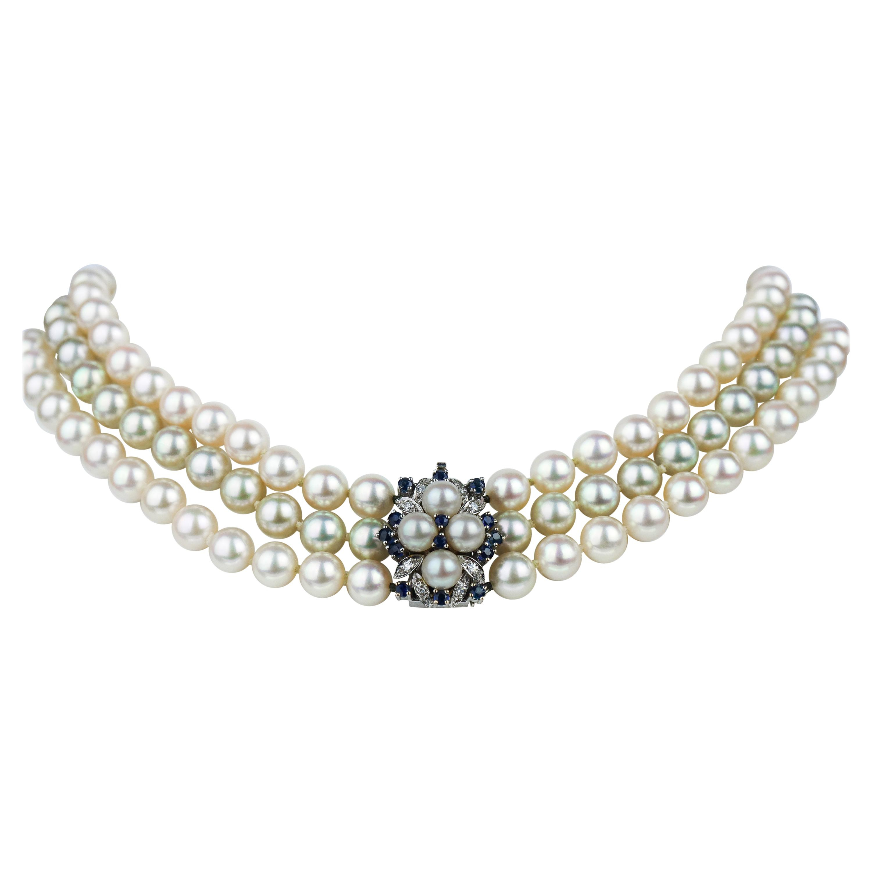 Antique Pearl Necklaces – 2,874 For Sale At 1stdibs Regarding Most Recently Released String Of Beads Y Necklaces (View 17 of 25)
