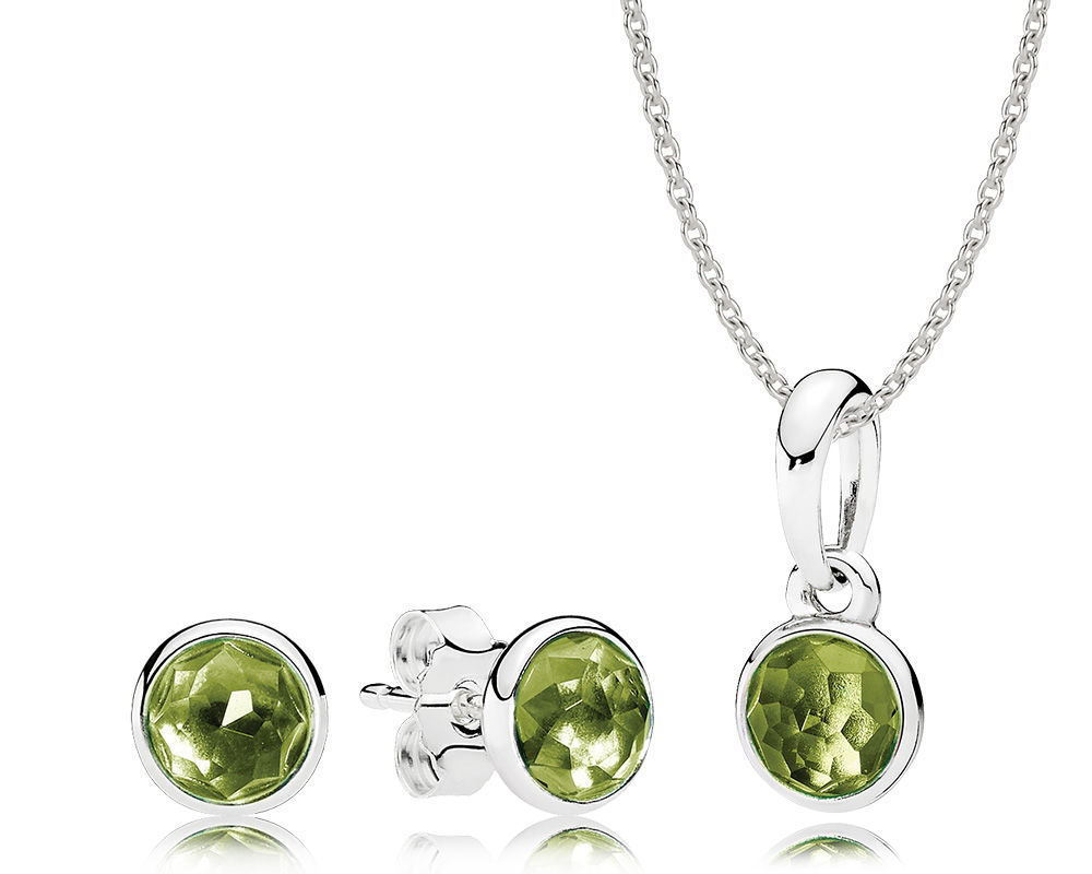 August Birthstones – Peridot, Sardonyx, And Spinel | Bremer Jewelry For Most Popular August Droplet Pendant Necklaces (Gallery 2 of 25)