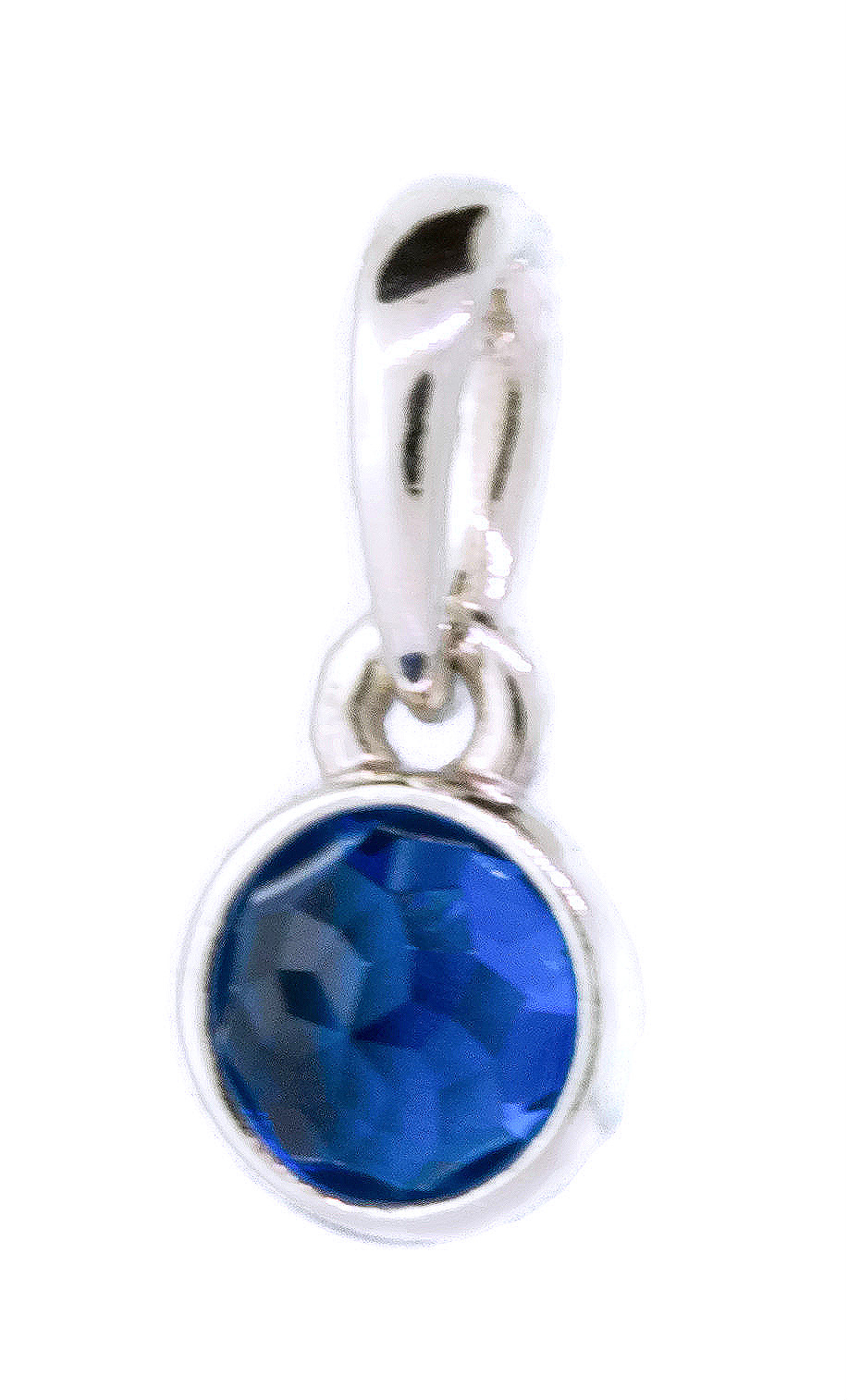 Authentic December Droplet Pendant, London Blue Crystal 390396nlb Intended For Latest London Blue Crystal December Droplet Pendant Necklaces (View 3 of 25)