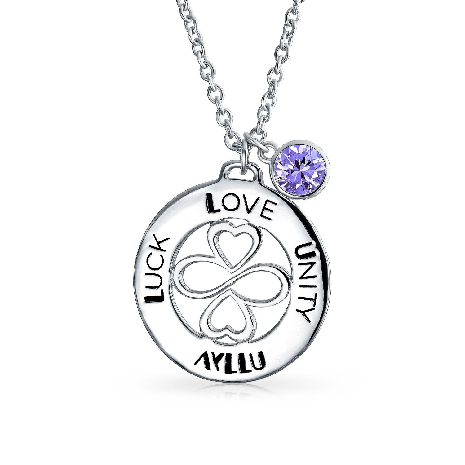 Ayllu Symbol Inspirational Round Disc Bff Pendant Necklace For Women Pertaining To Most Up To Date Shimmering Knot Locket Element Necklaces (View 13 of 25)