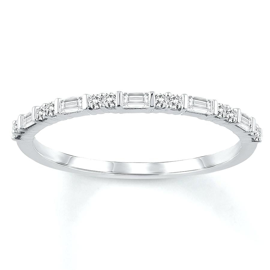 Baguette And Round Diamond Band – Jackharding (View 11 of 25)