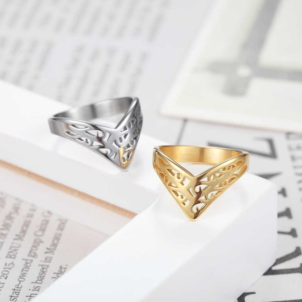 Baolaisi Crown Rings For Women New Geometric Triangle Engagement Ring  Fashion Jewelry Trendy Europe Design Wedding Brands For Best And Newest Geometric Crown Rings (View 4 of 15)