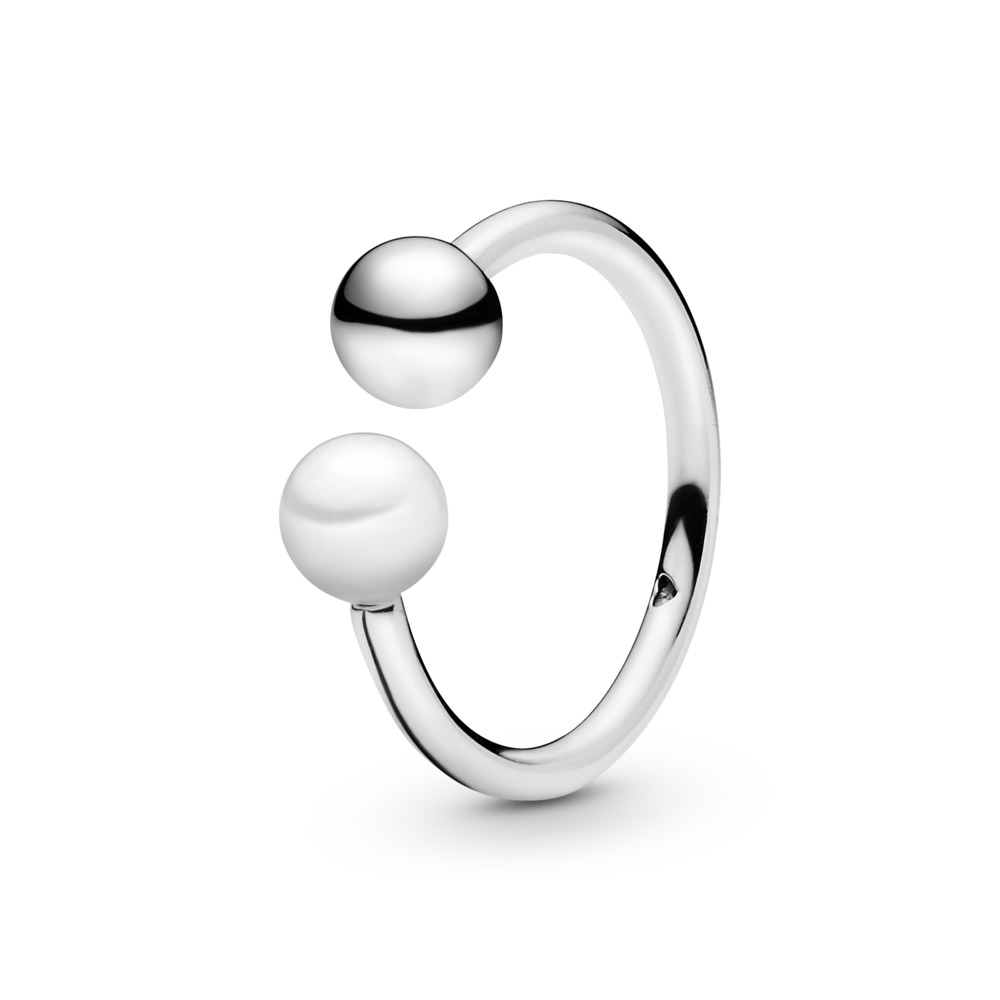 Featured Photo of Bead & Freshwater Cultured Pearl Open Rings