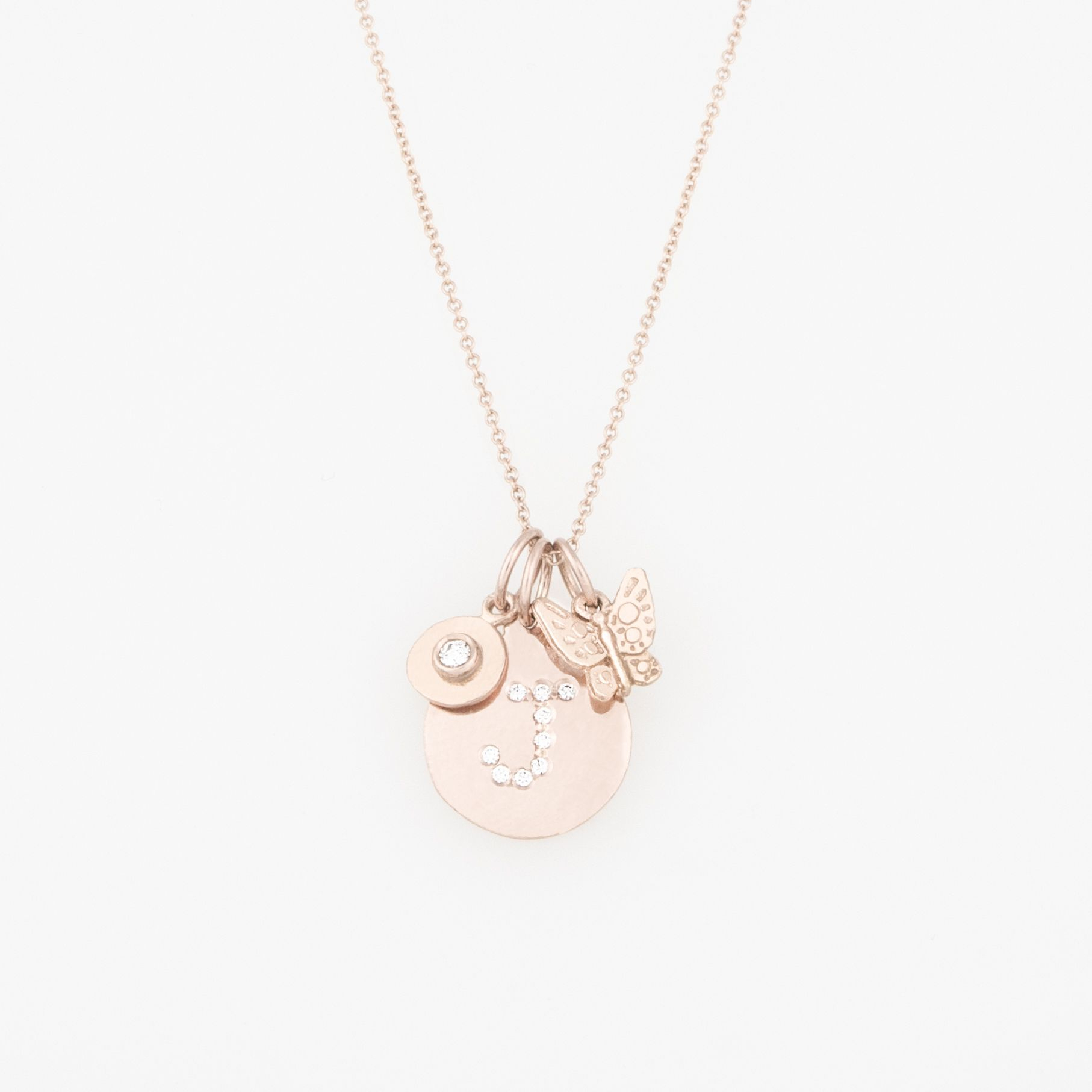 Beautiful Pink Gold Charms At Helen Ficalora (View 6 of 25)