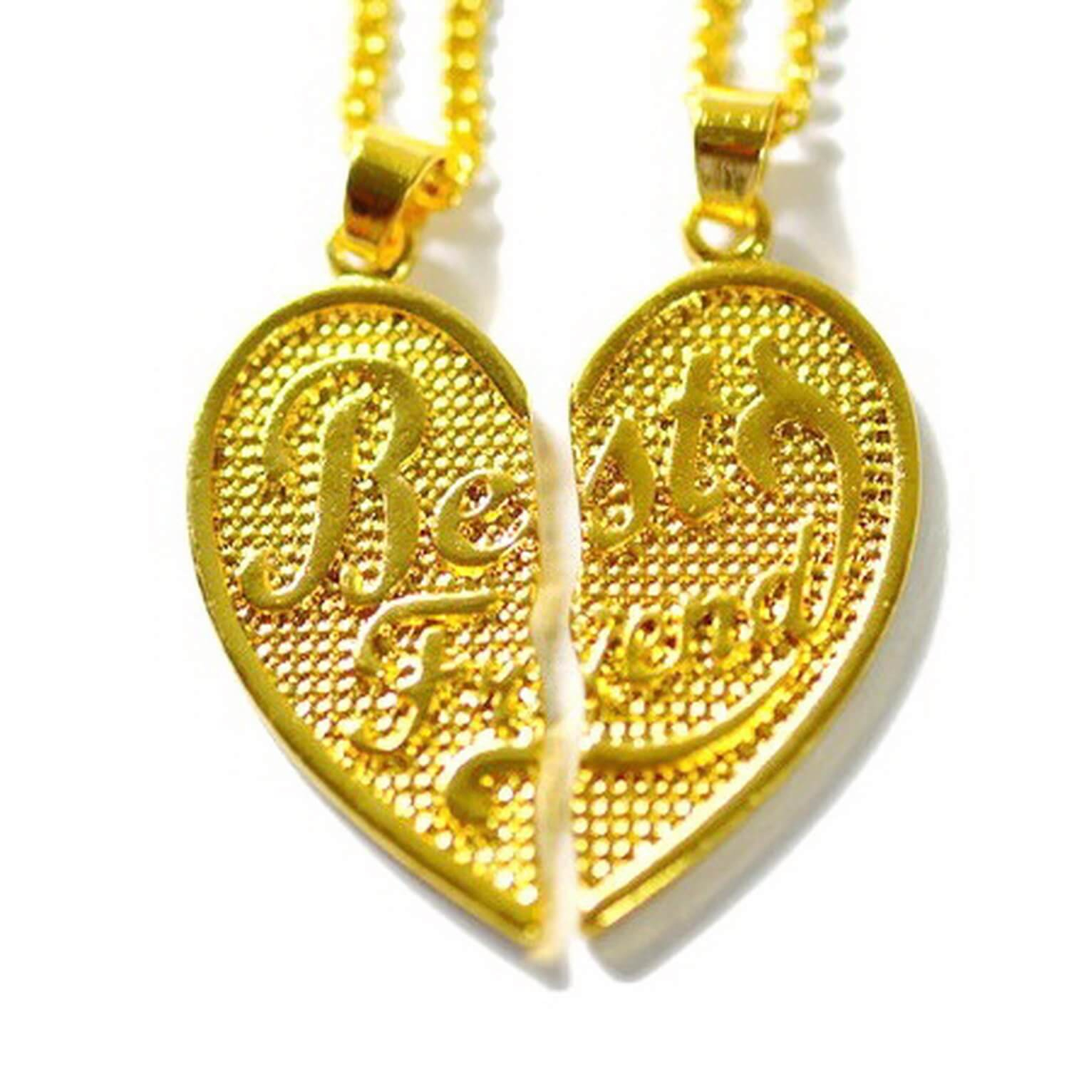Best Friend Necklaces – Everything You Want To Know Throughout Most Up To Date Best Friends Heart & Key Necklaces Pendant Necklaces (Gallery 25 of 25)