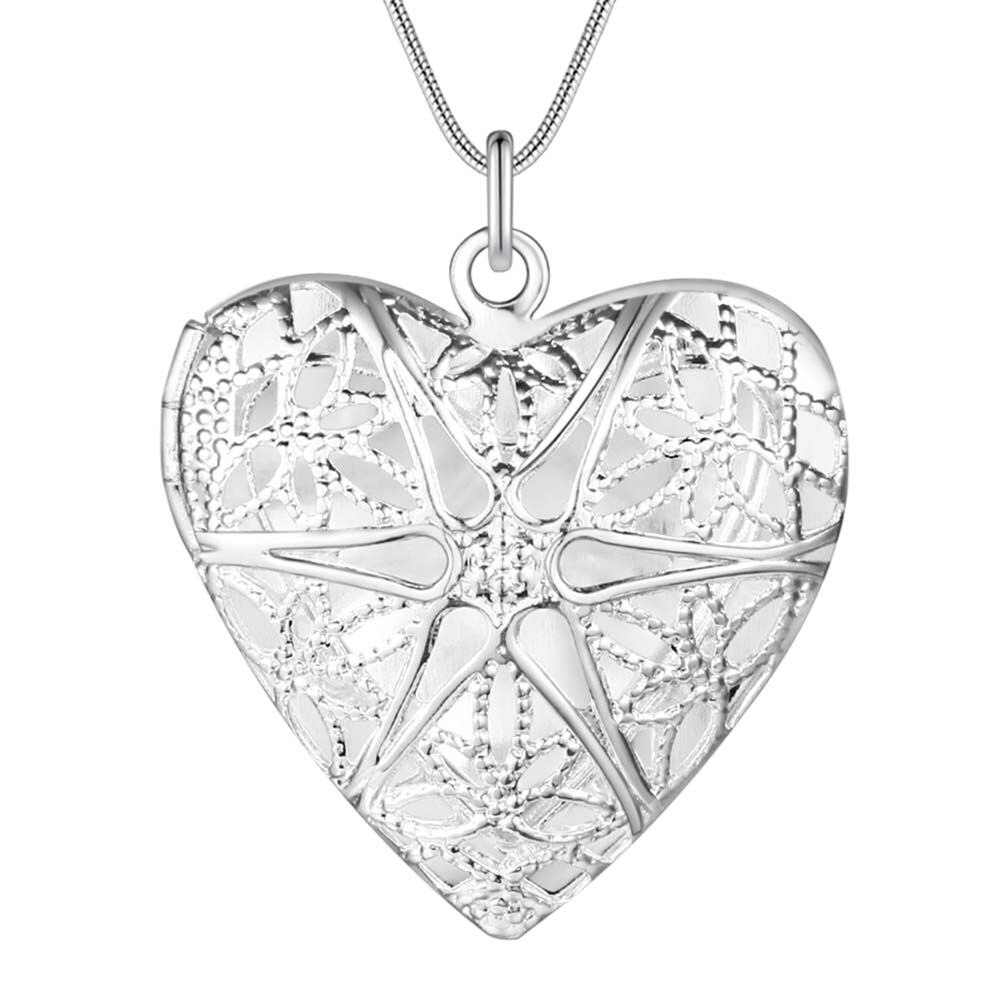 Best Selling Fashion Pendant Heart Locket Plate Charm Necklace Regarding Most Recently Released Heart Locket Plate Necklaces (View 7 of 25)