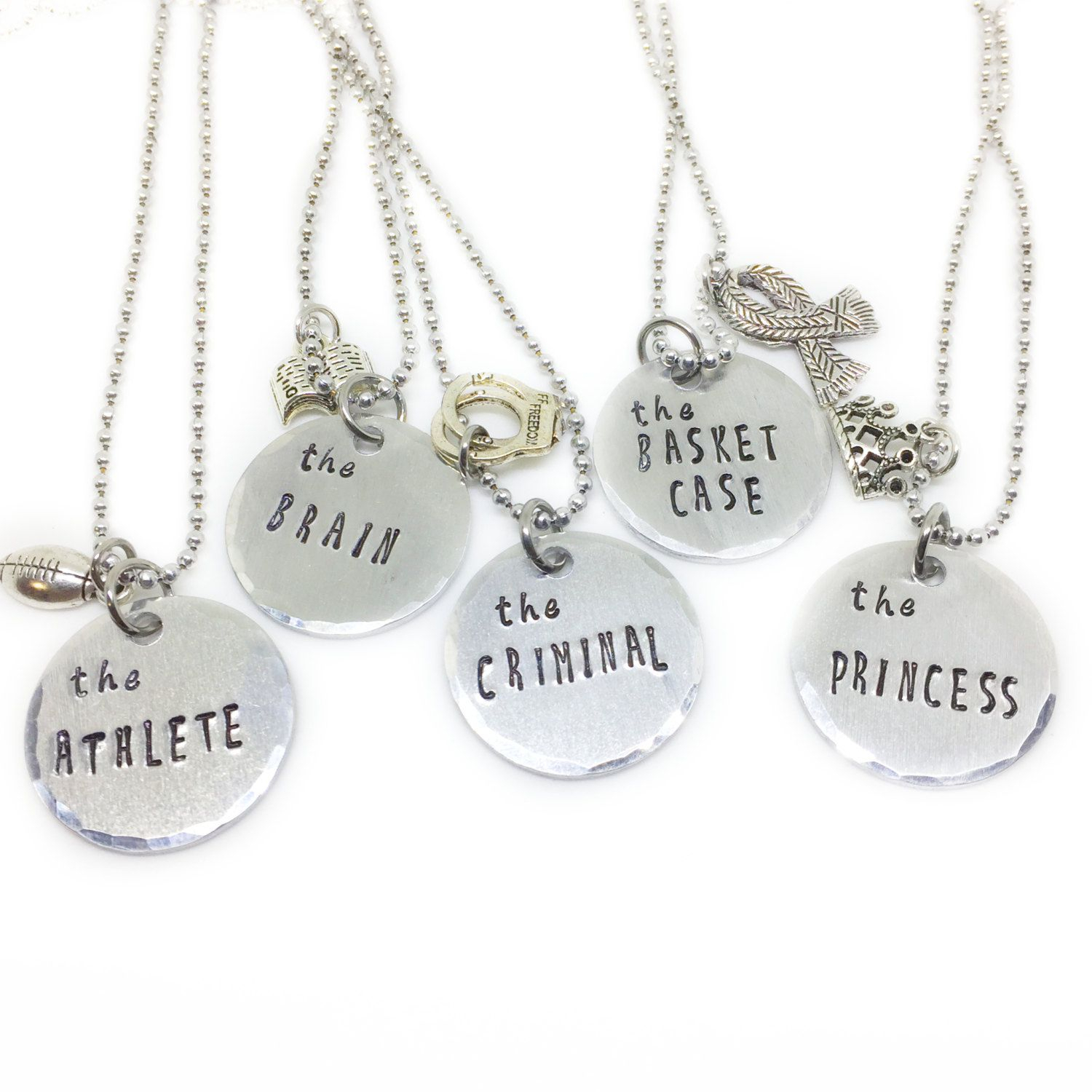 Breakfast Club Best Friend Necklaces | Nerd Of All Trades In 2019 With Most Popular Sparkling Gift Locket Element Necklaces (View 11 of 25)