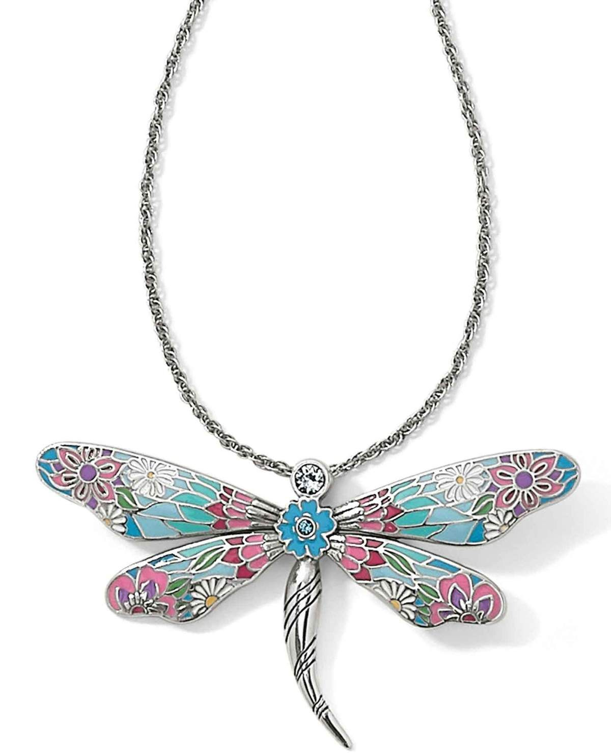 Featured Photo of Sparkling Dragonfly Y  Necklaces