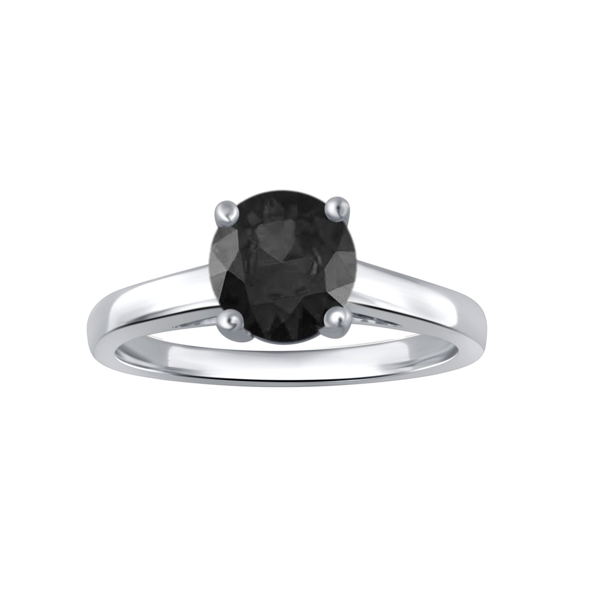 Buy Black Diamond Rings Online At Overstock   Our Best Rings Intended For Most Current Champagne And White Diamond Quilted Anniversary Rings In White Gold (View 11 of 25)