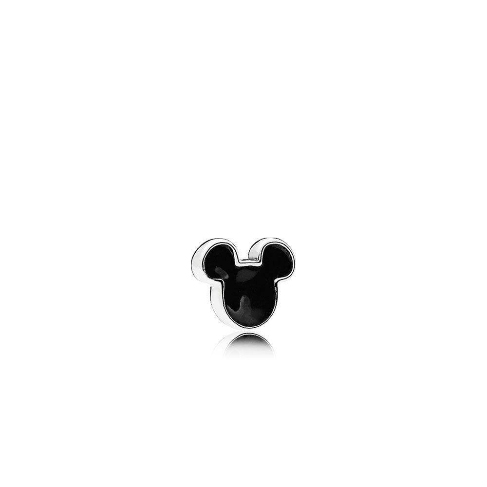 Buy Cheap Pandora Disney, Mickey Icon Petite Locket Charm, Black Inside Most Popular Disney Sparkling Mickey Icon Petite Locket Charm Necklaces (View 12 of 25)