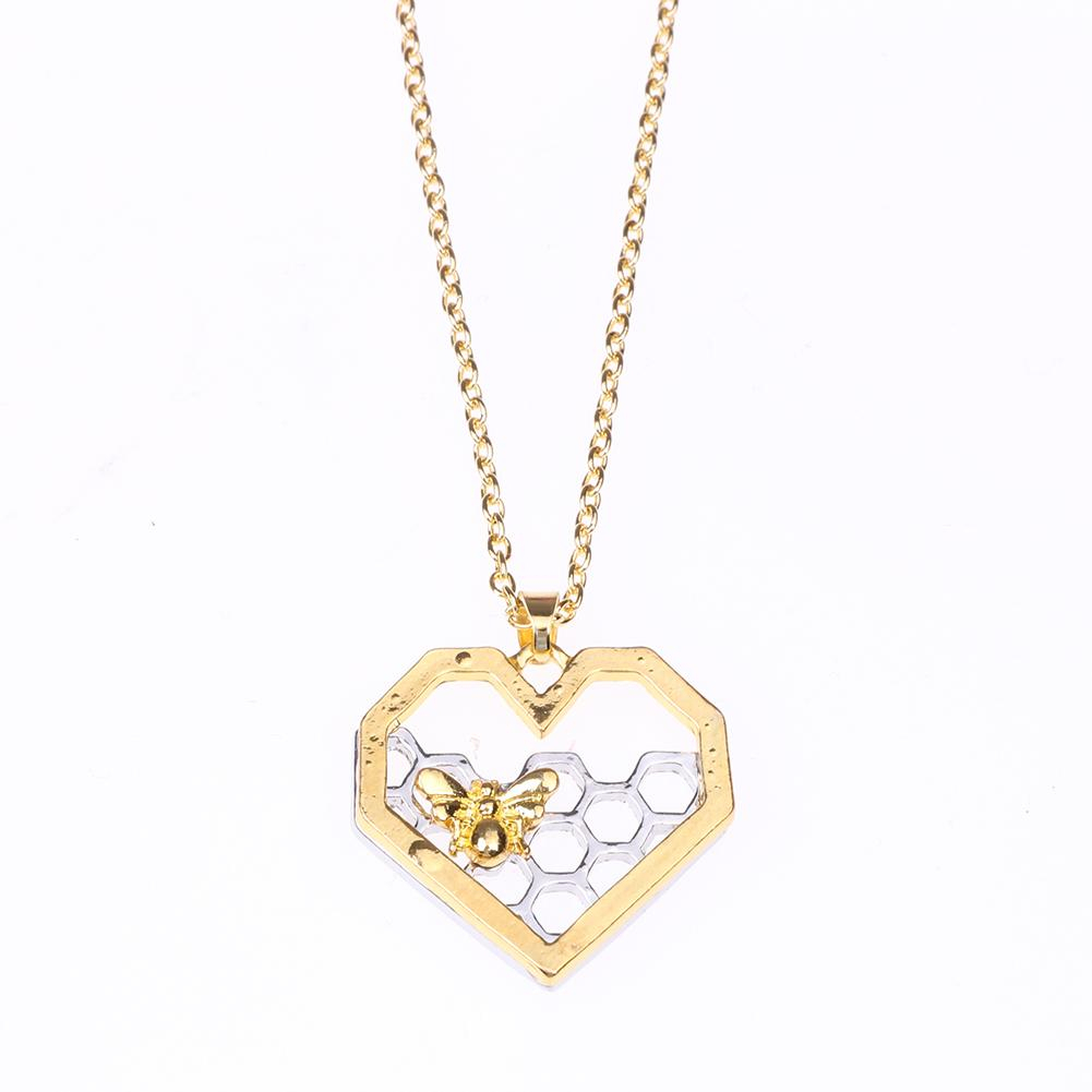 Buy Liva Girl Womens Fashion Jewellery At Best Prices Online In Intended For 2020 Heart Honeycomb Lace Pendant Necklaces (View 4 of 25)