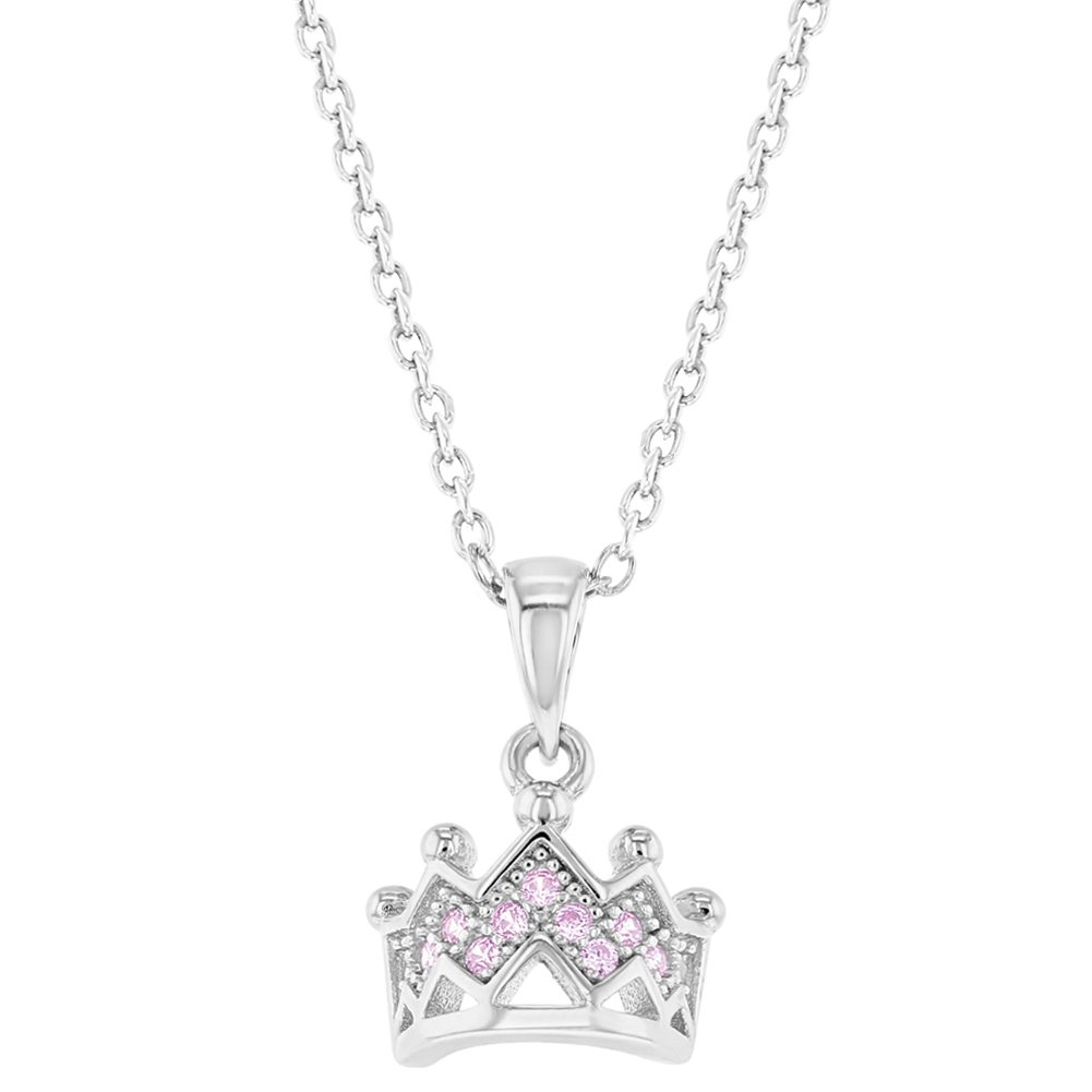 Buy Princess Crown Charm Necklace In Cheap Price On Alibaba Within Current Tiara Crown Collier Necklaces (View 5 of 25)