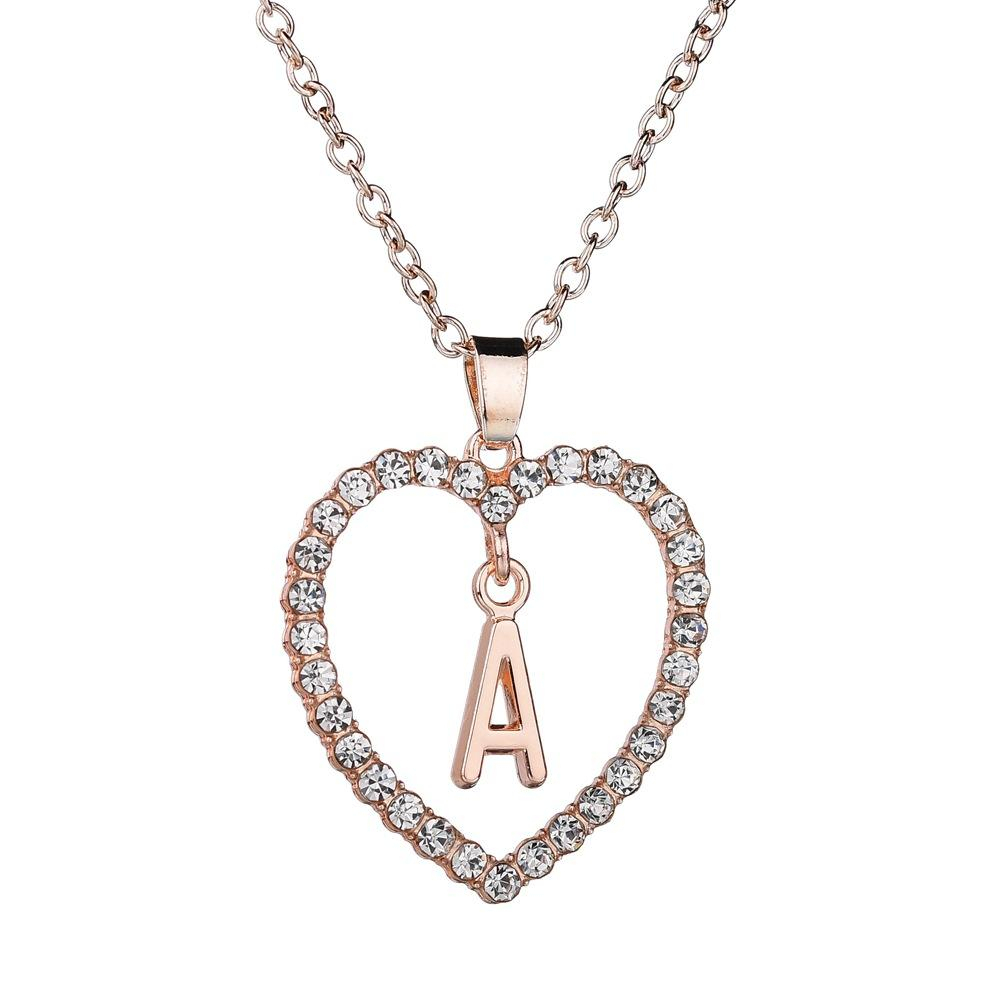 Buy Top Deals Necklaces At Best Prices Online In Bangladesh – Daraz Within Most Current Letter V Alphabet Locket Element Necklaces (View 2 of 25)