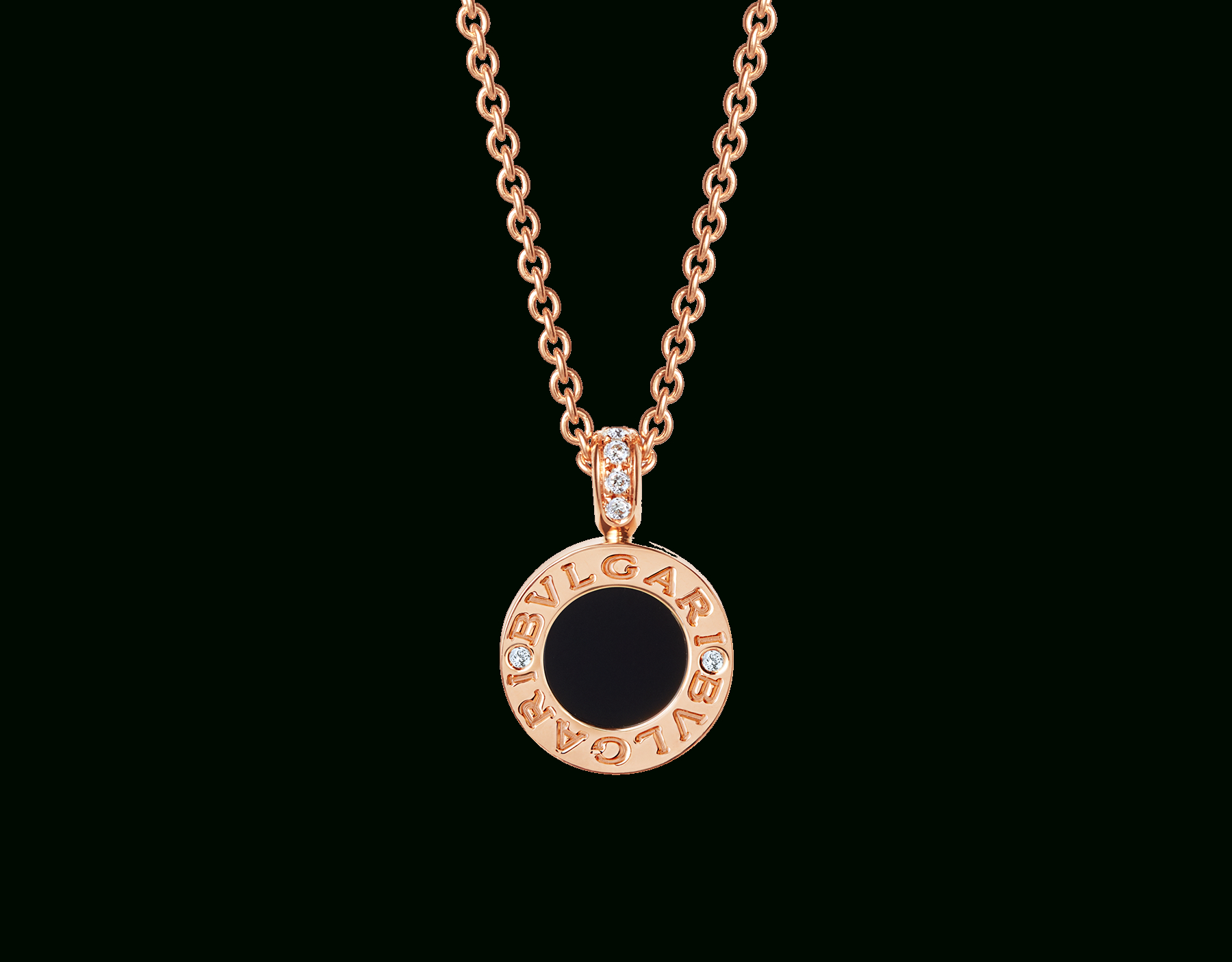 Bvlgari Bvlgari Necklace Regarding Most Up To Date Pavé Star Locket Element Necklaces (Gallery 23 of 25)