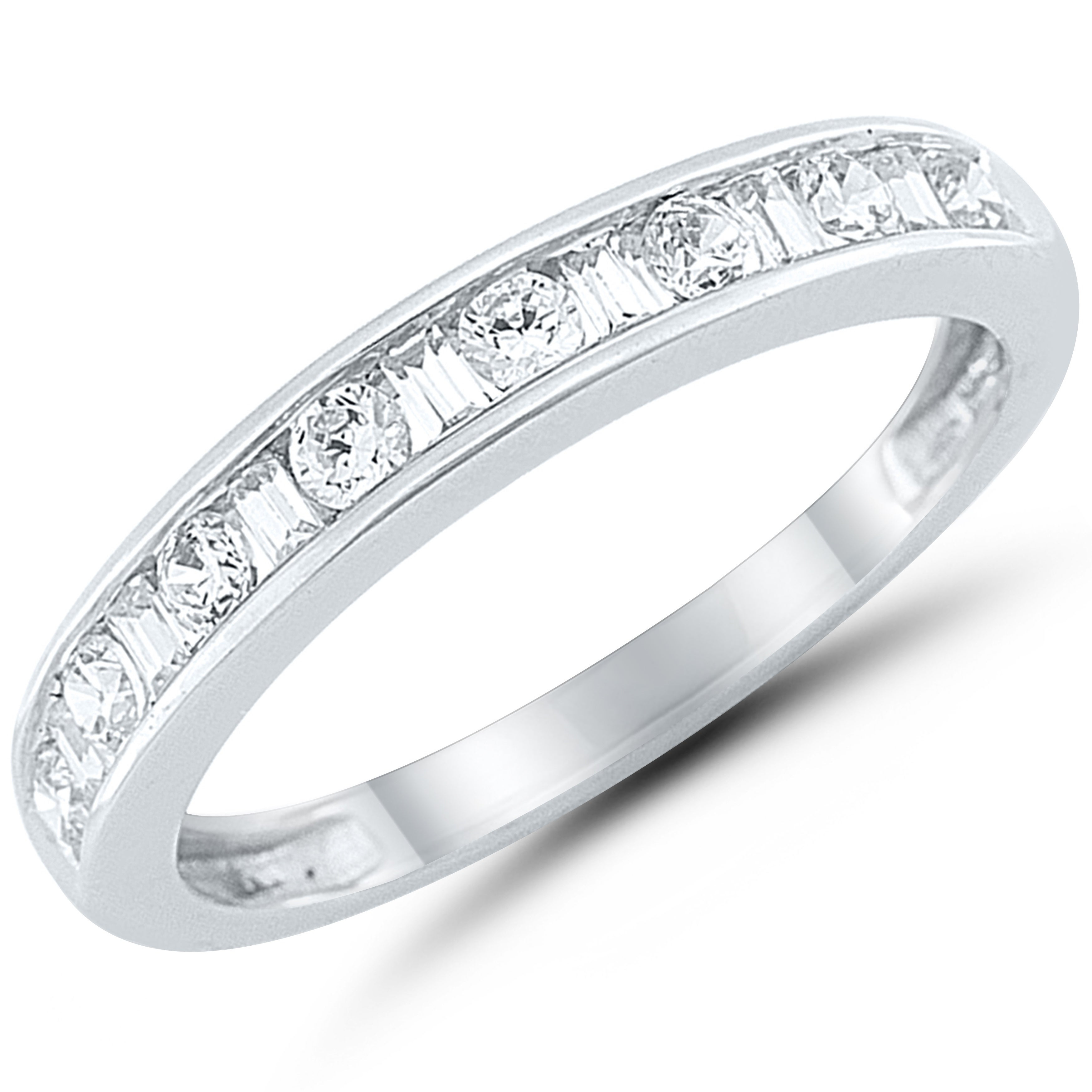 Caressa 14k White Gold 1/2ct. T. W (View 10 of 25)