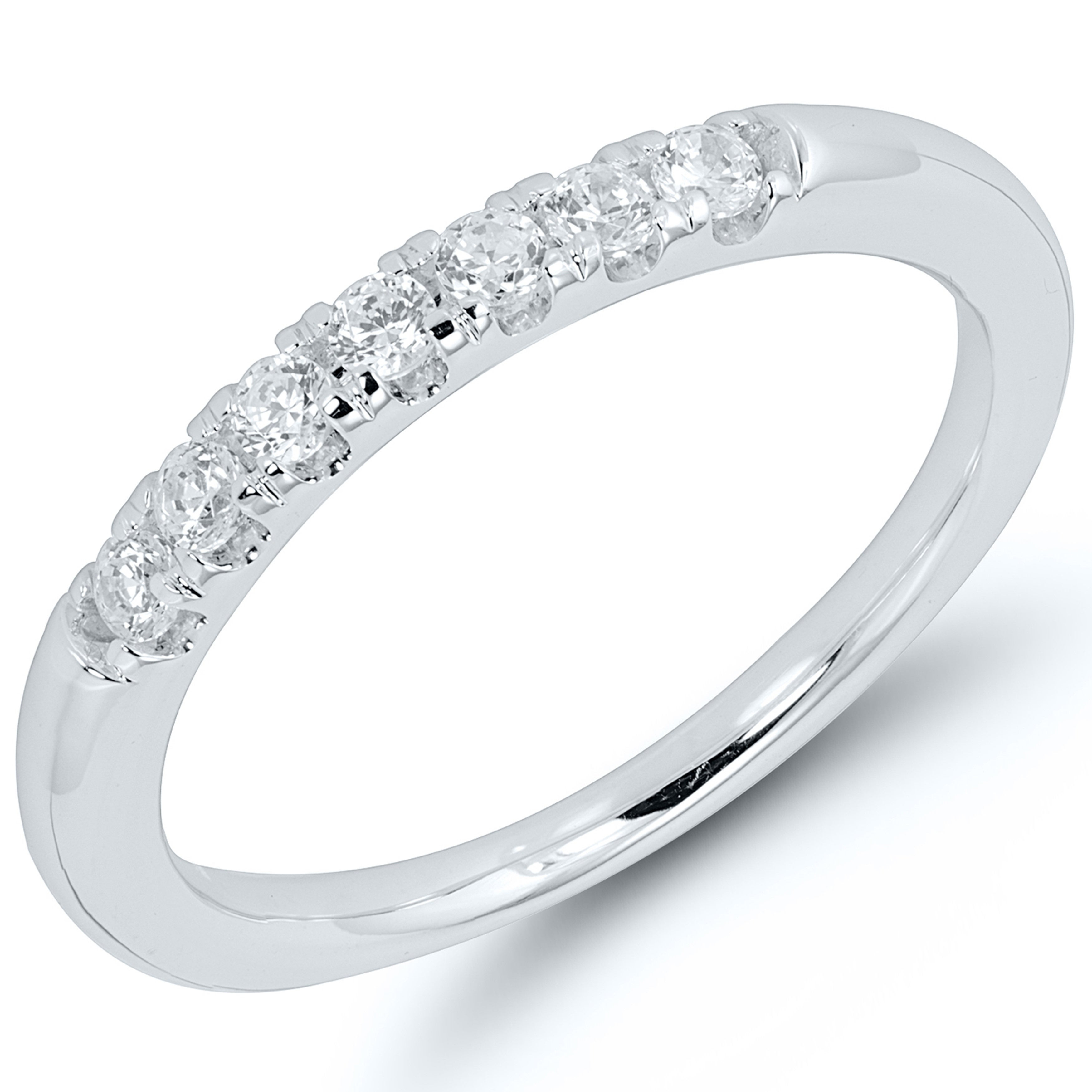 Caressa 14k White Gold 1/4ct. T.w (View 17 of 25)