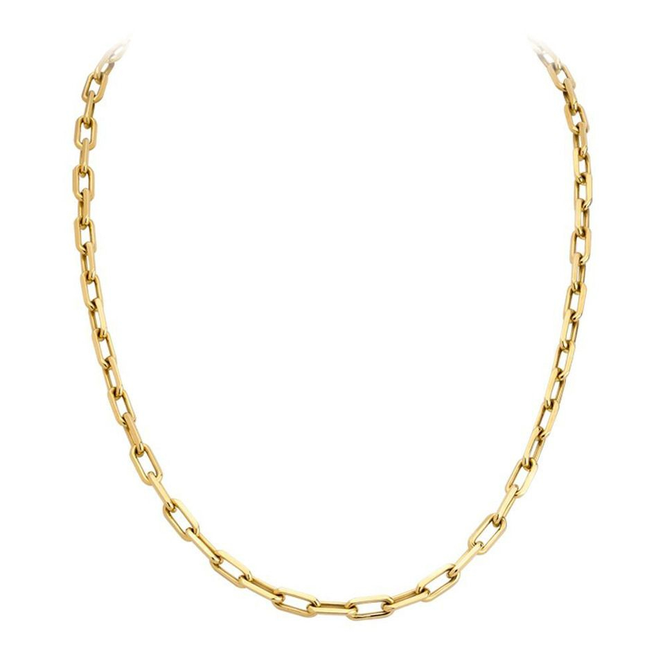 Cartier Spartacus Gold Link Chain | Cartier Gems | Cartier Gold Inside Latest Classic Cable Chain Necklaces (View 8 of 25)
