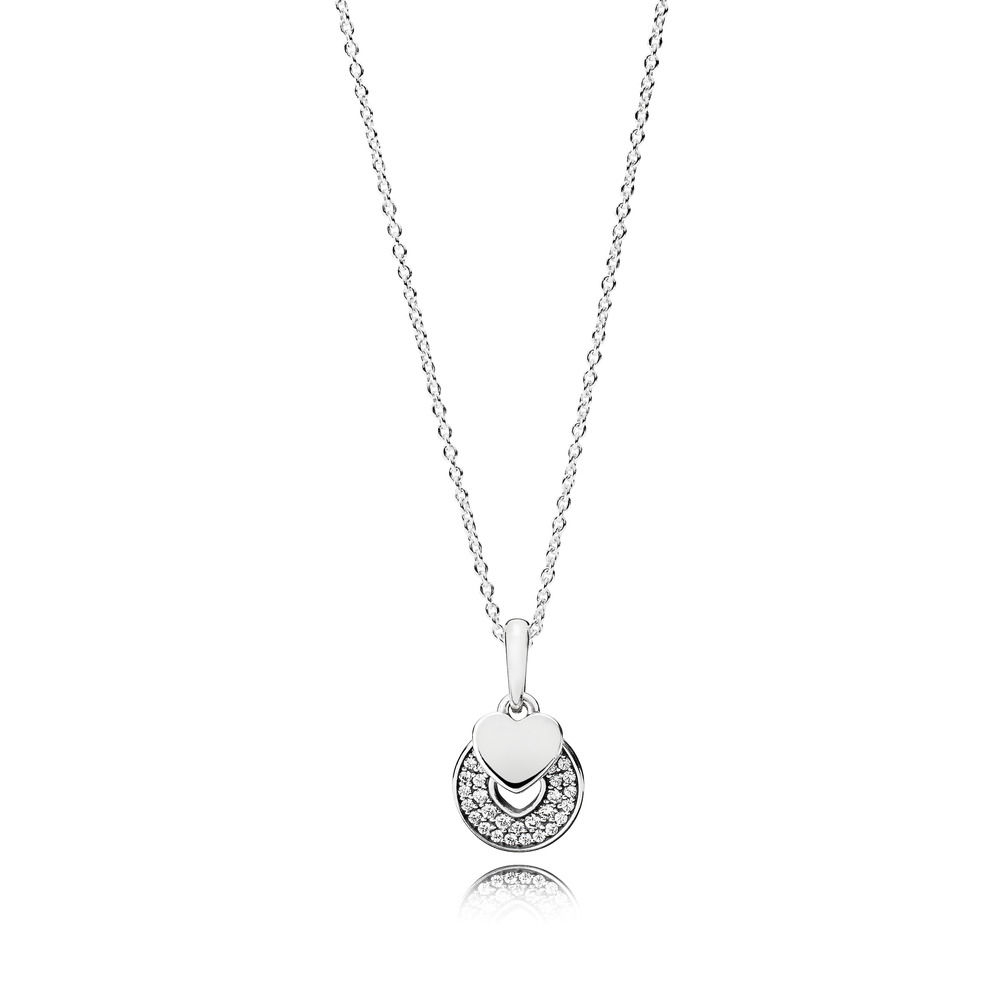 Celebration Hearts Necklace [390404Cz 70] – £ (View 2 of 25)