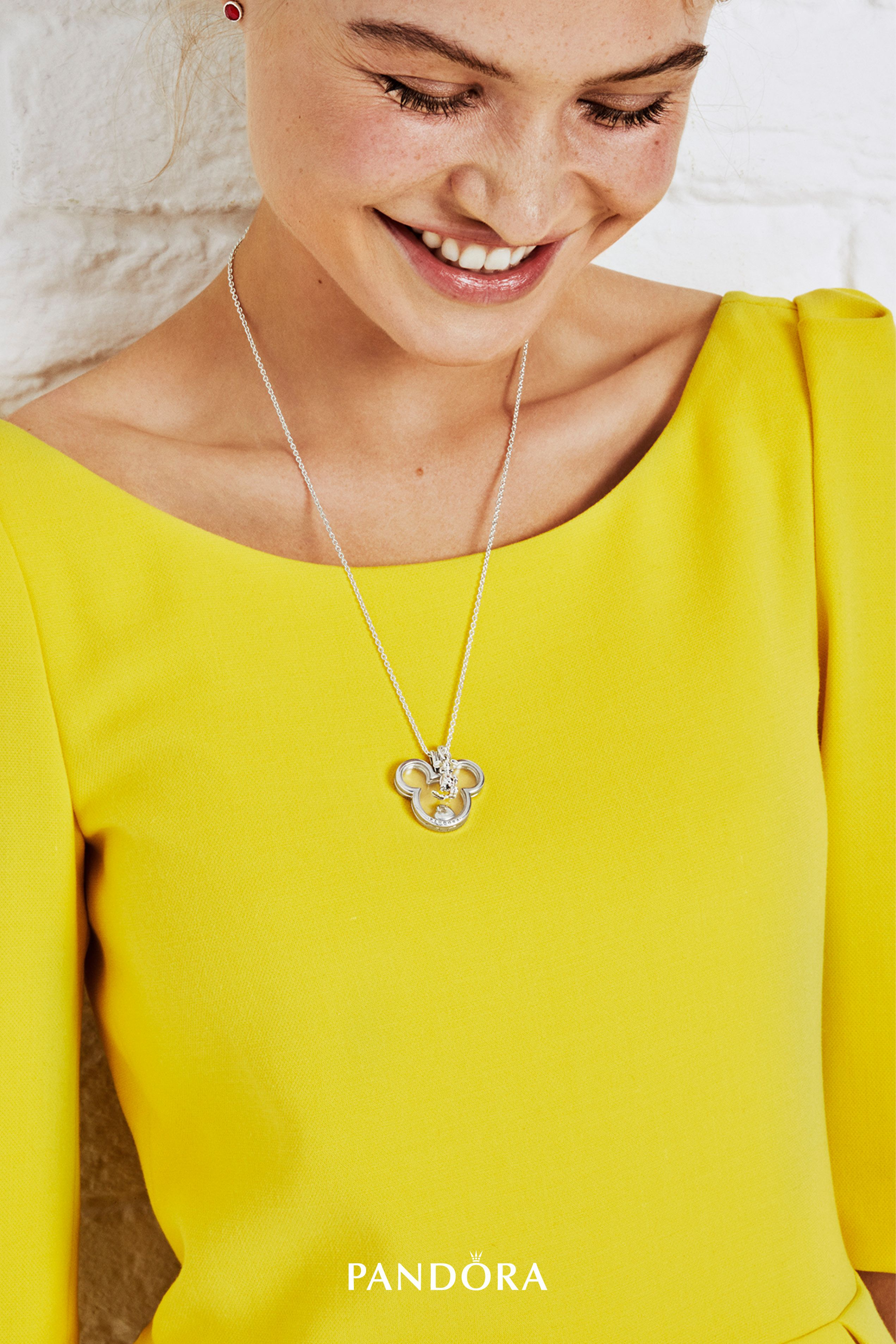 Channel Childhood Memories With Our New Floating Locket Shaped As With Regard To 2019 Disney Mickey Floating Locket Necklaces (View 4 of 25)