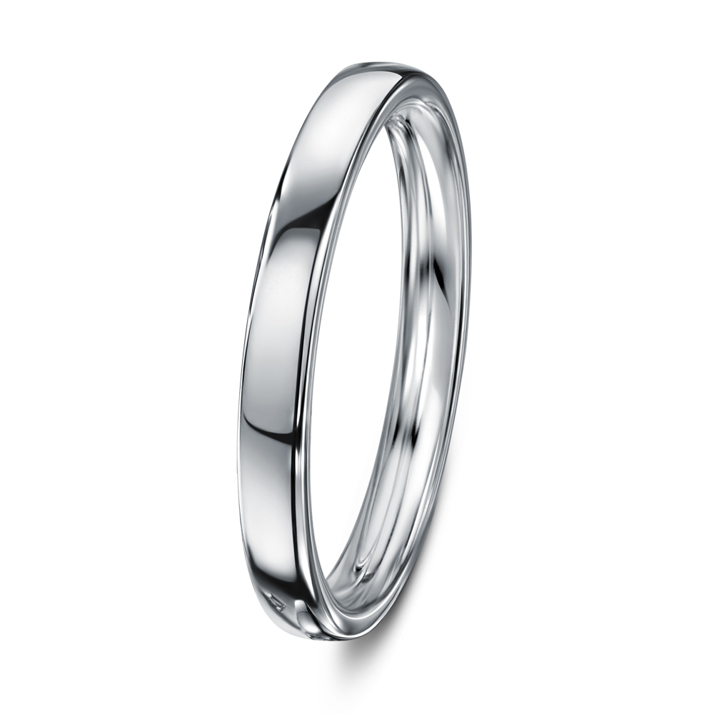 Chapiteau Wedding Ring Pertaining To Recent Simple Sparkling Band Rings (View 5 of 25)