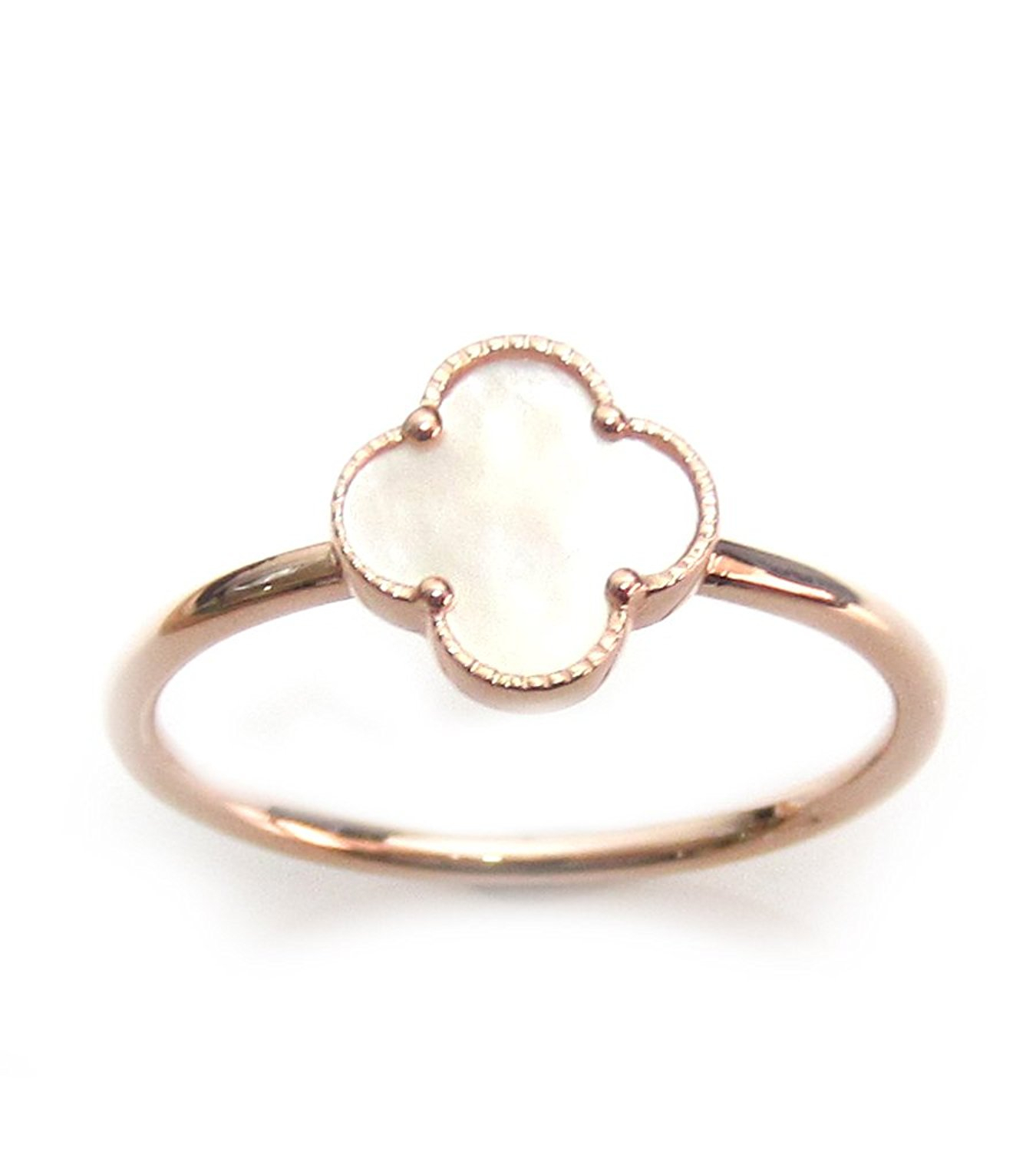 Cheap 4 Clover Ring, Find 4 Clover Ring Deals On Line At Alibaba Regarding Most Up To Date Dangling Four Leaf Clover Rings (View 5 of 25)