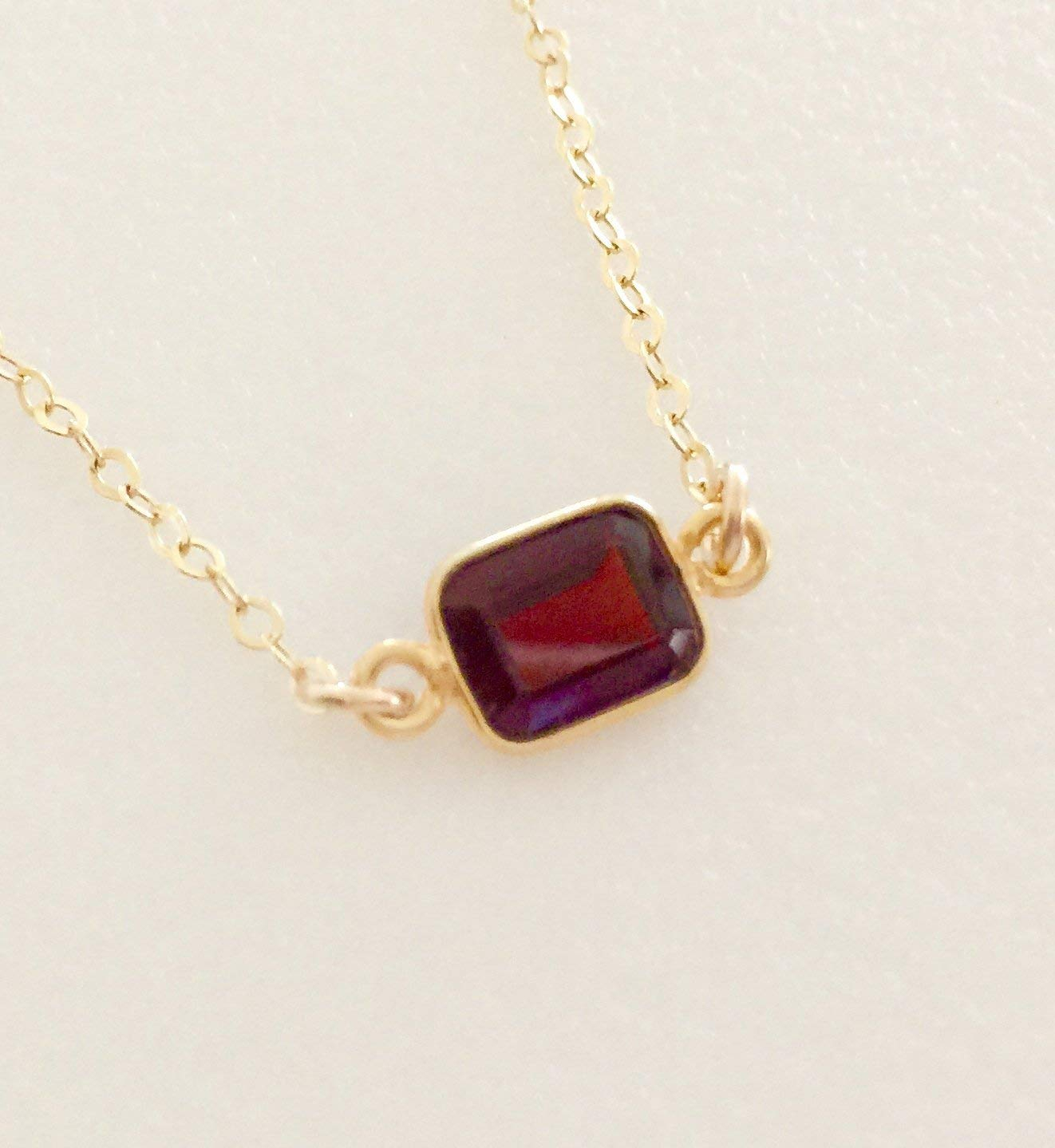 Cheap Garnet Necklace Gold, Find Garnet Necklace Gold Deals On Line Within 2020 Garnet Red January Birthstone Locket Element Necklaces (View 16 of 25)