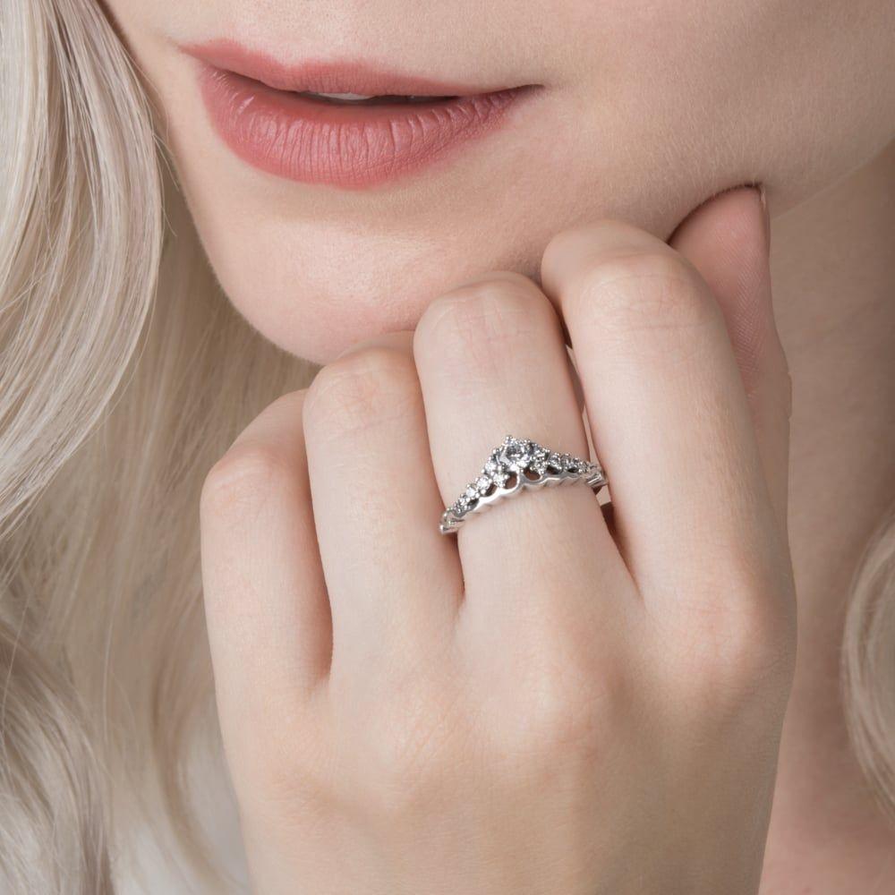 Cheap Genuine Pandora Fairytale Tiara Ring Sale Clearance Uk Regarding Most Current Fairytale Tiara Rings (View 3 of 25)