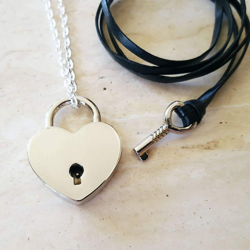 Cheap Heart Lock Key Necklace, Find Heart Lock Key Necklace Deals On Pertaining To Most Recently Released Heart Padlock Locket Element Necklaces (View 6 of 25)