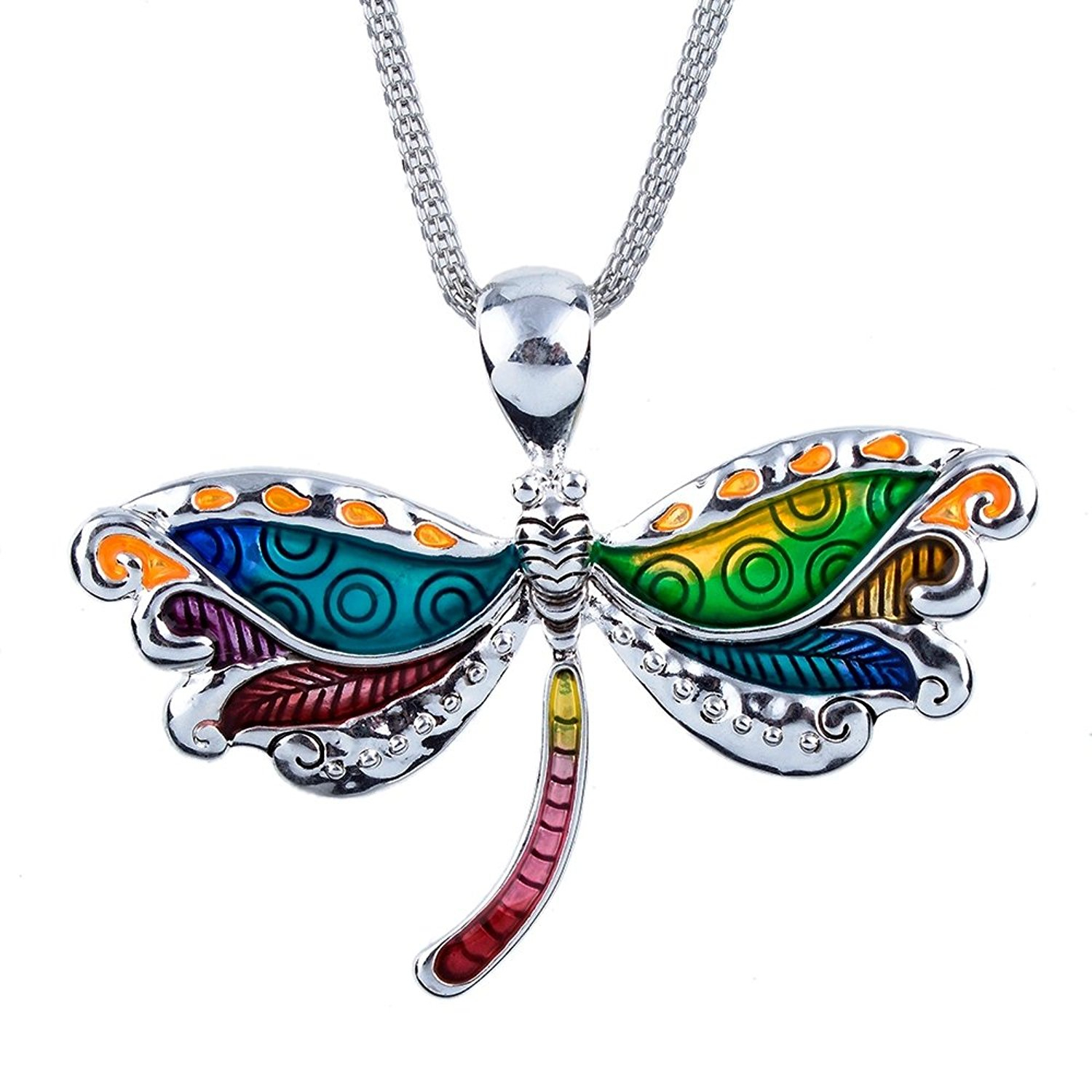 Cheap Large Dragonfly Pendant, Find Large Dragonfly Pendant Deals On Throughout Current Sparkling Dragonfly Y  Necklaces (View 7 of 25)