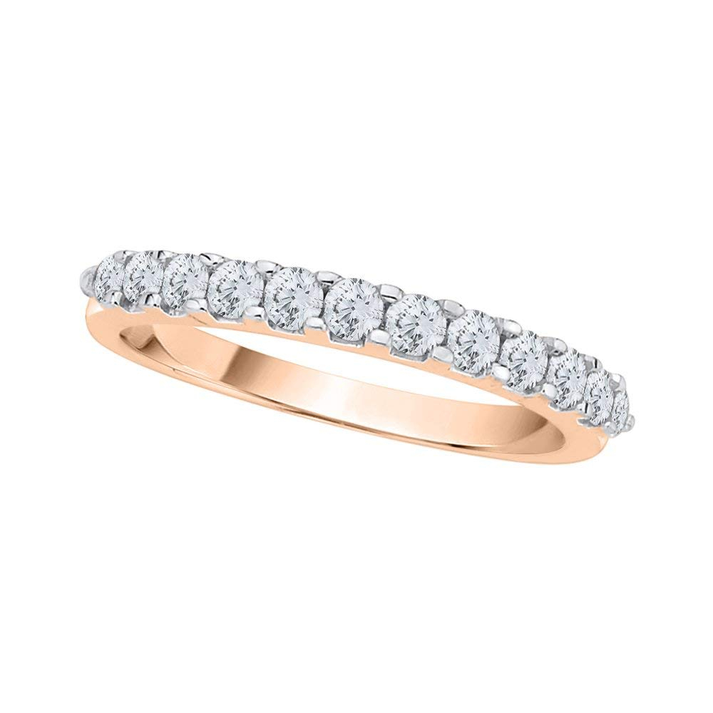 Cheap Pink Diamond Anniversary Ring, Find Pink Diamond Throughout Most Recent Champagne And White Diamond Swirled Anniversary Bands In Rose Gold (View 13 of 25)
