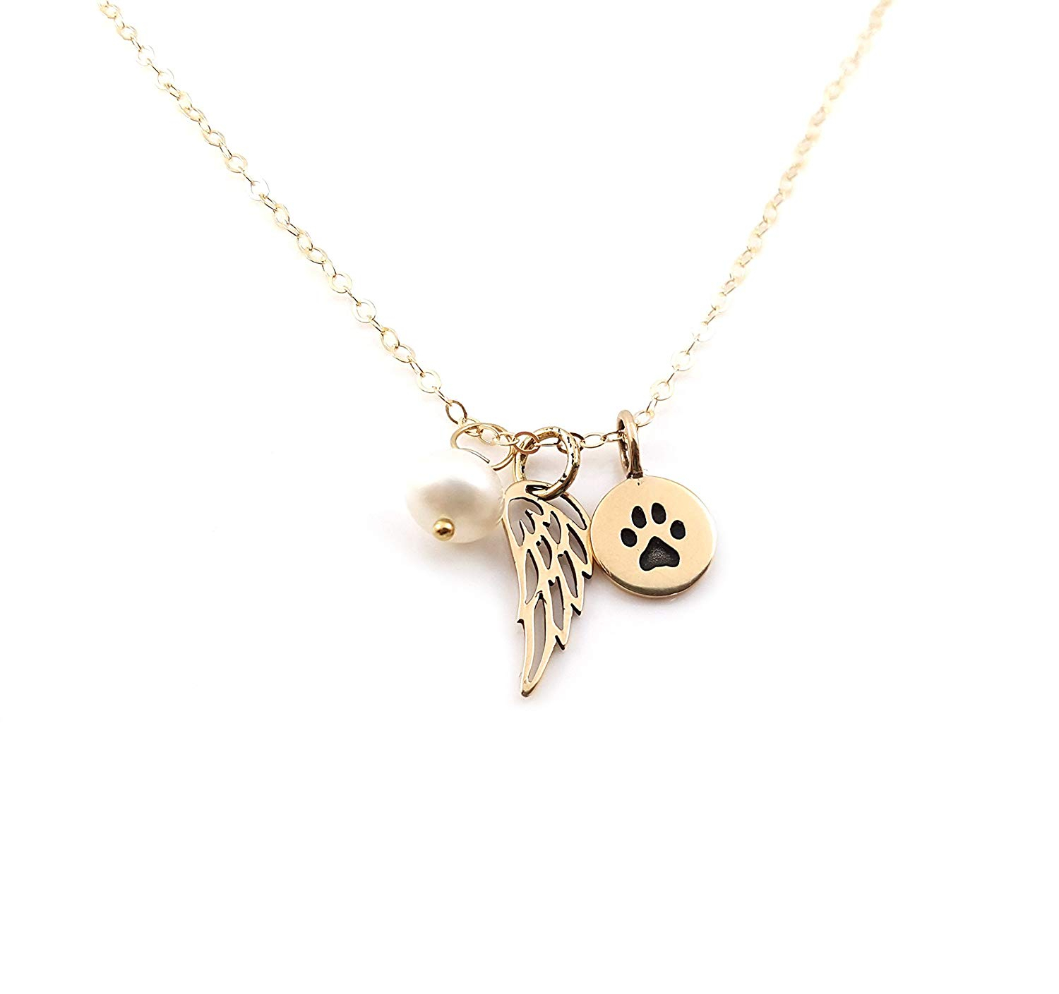 Cheap Rose Gold Angel Wing, Find Rose Gold Angel Wing Deals On Line With Latest Pavé Angel Wing Locket Element Necklaces (View 6 of 25)