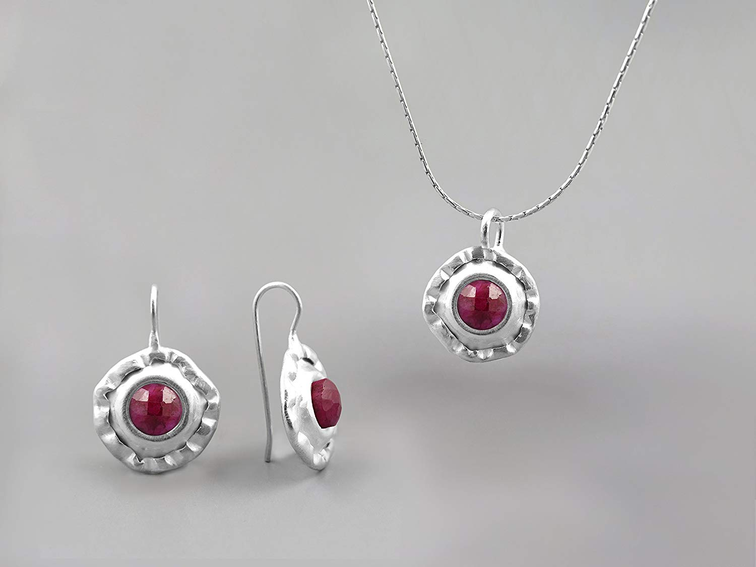 Cheap Ruby Jewelry Store, Find Ruby Jewelry Store Deals On Line At In Most Recently Released July Droplet Pendant, Synthetic Ruby Necklaces (View 15 of 25)