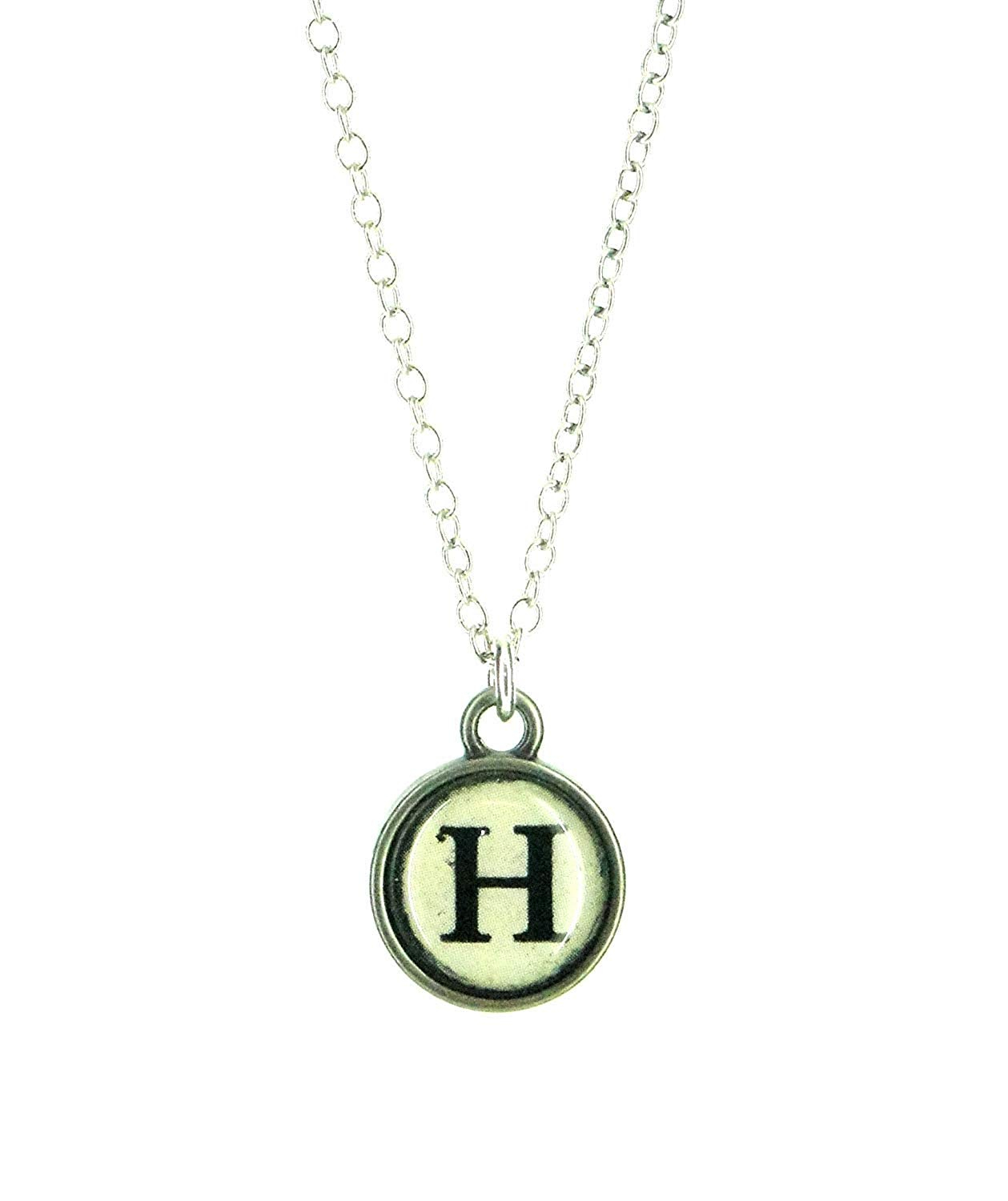 Cheap Typewriter Letter, Find Typewriter Letter Deals On Line At Within Most Up To Date Letter H Alphabet Locket Element Necklaces (View 5 of 25)