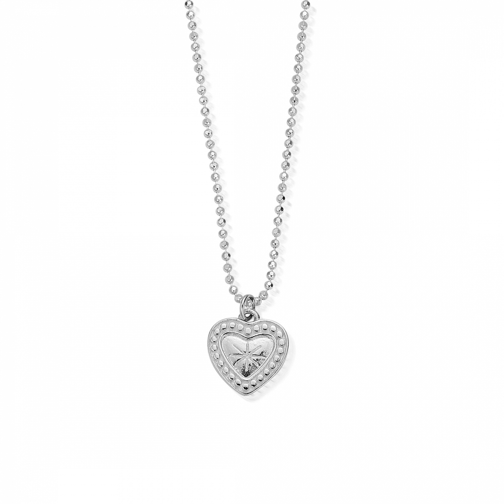 Chlobo Scdc05004 Women's Star Heart Pendant With Best And Newest Sparkling Lioness Heart Pendant Necklaces (View 14 of 25)