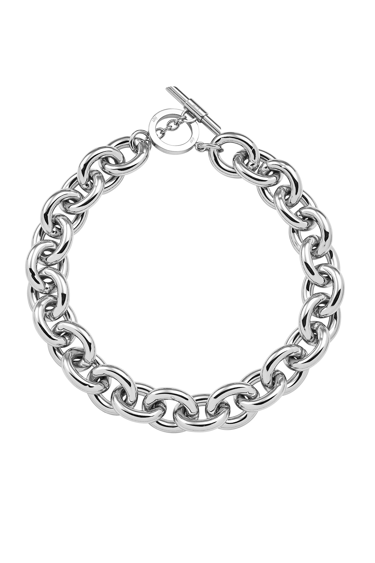 Chunky Silver Necklace Throughout Most Popular Silver Chain Necklaces (View 6 of 25)