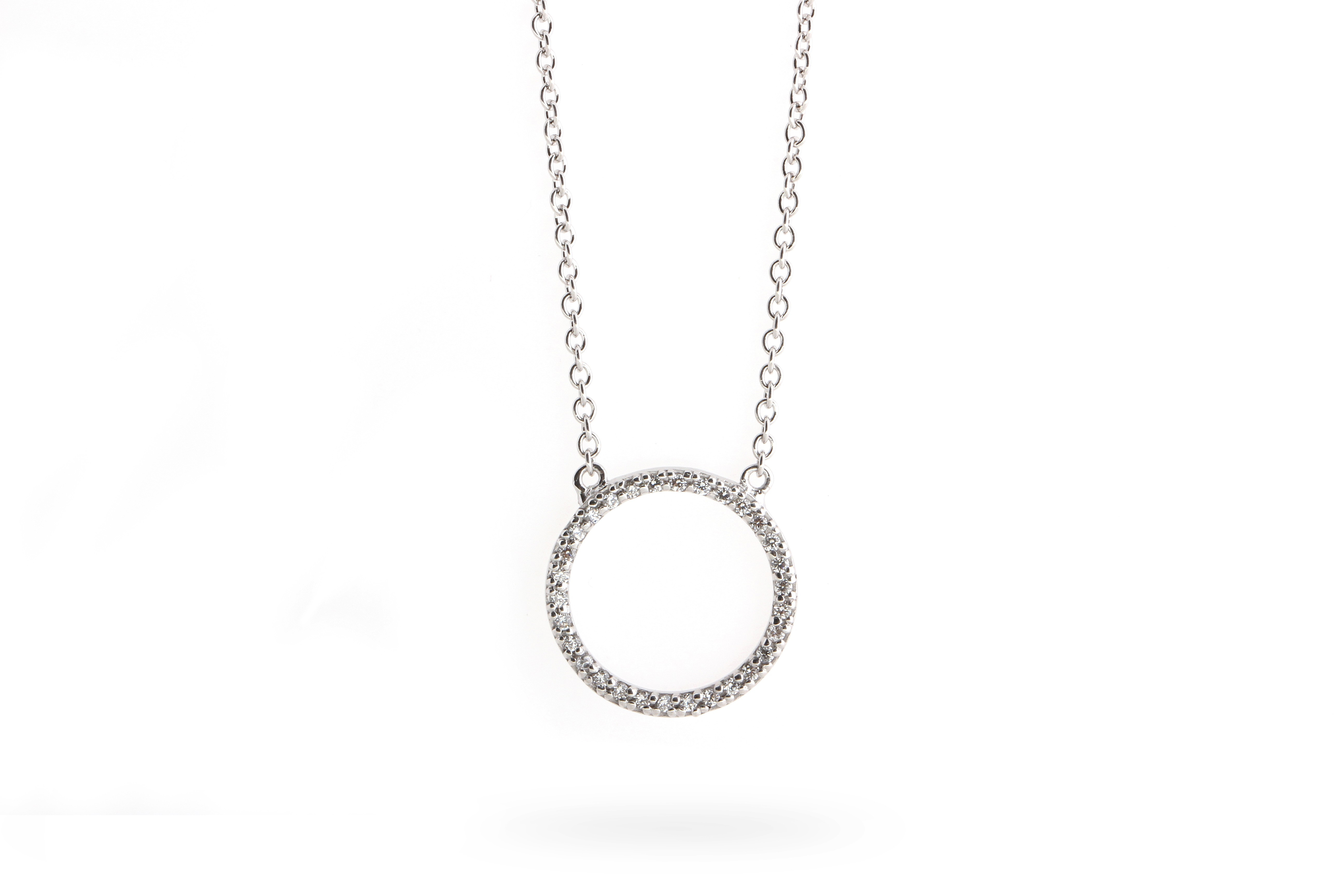 Circle Of Life Necklace Regarding 2019 Circle Of Sparkle Necklaces (View 7 of 25)
