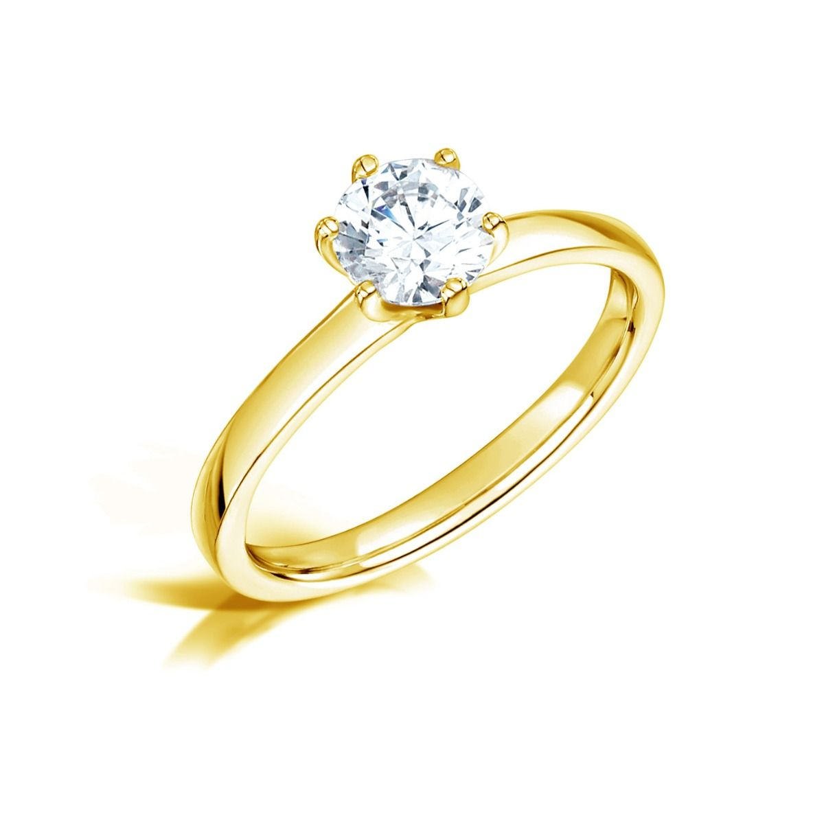 Clara – Buy Engagement Rings & Diamonds Online – Vanbruun Intended For Most Recent Sparkling Twisted Lines Rings (View 3 of 25)